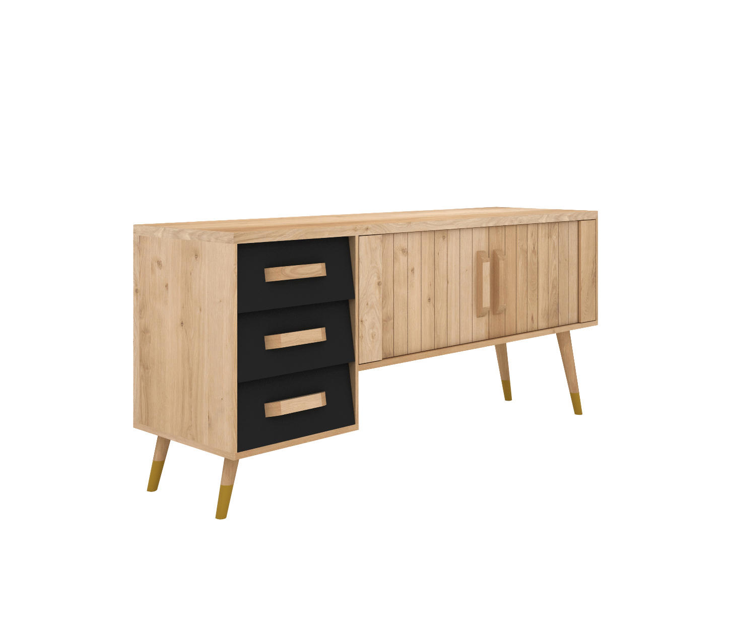 ORIGAMI TV CUPBOARD - Multimedia stands from Ethnicraft ... - photo#28