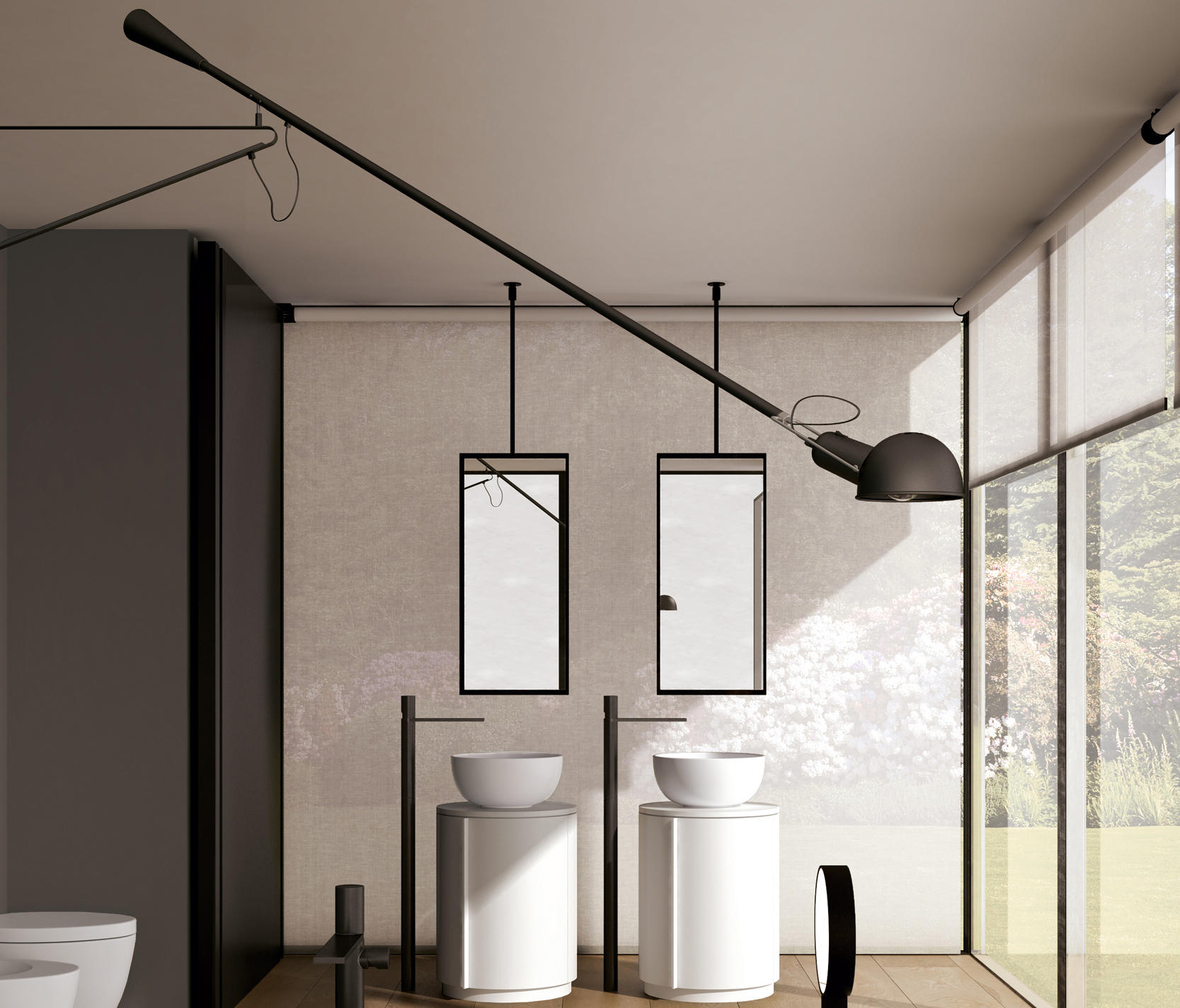 Arcadia Argo Mirror Mirrors From Ceramica Cielo Architonic
