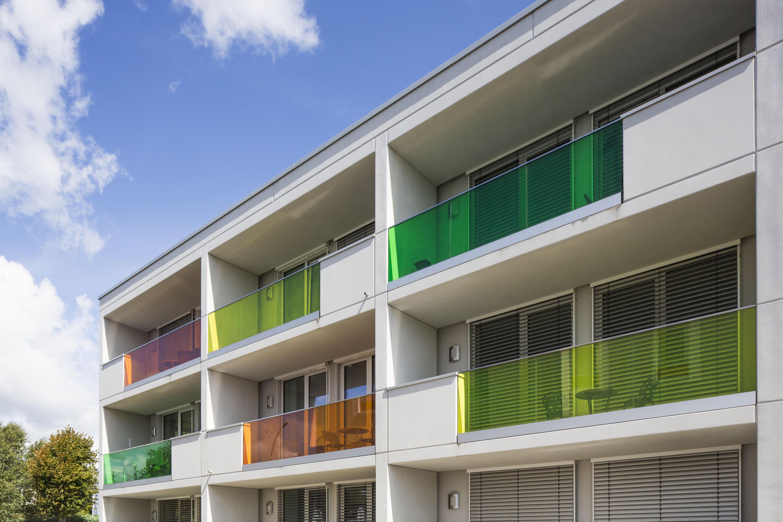gm railing side balkonverglasung von glas marte architonic. Black Bedroom Furniture Sets. Home Design Ideas