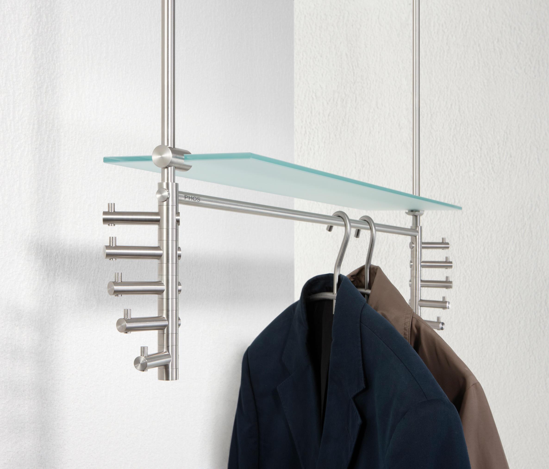 h ngegarderobe take 5 doppelt mit glasablage h ngegarderoben von phos design architonic. Black Bedroom Furniture Sets. Home Design Ideas