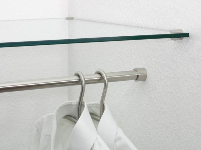garderobenstange nische gsr n 20 kleiderstangen von phos design architonic. Black Bedroom Furniture Sets. Home Design Ideas