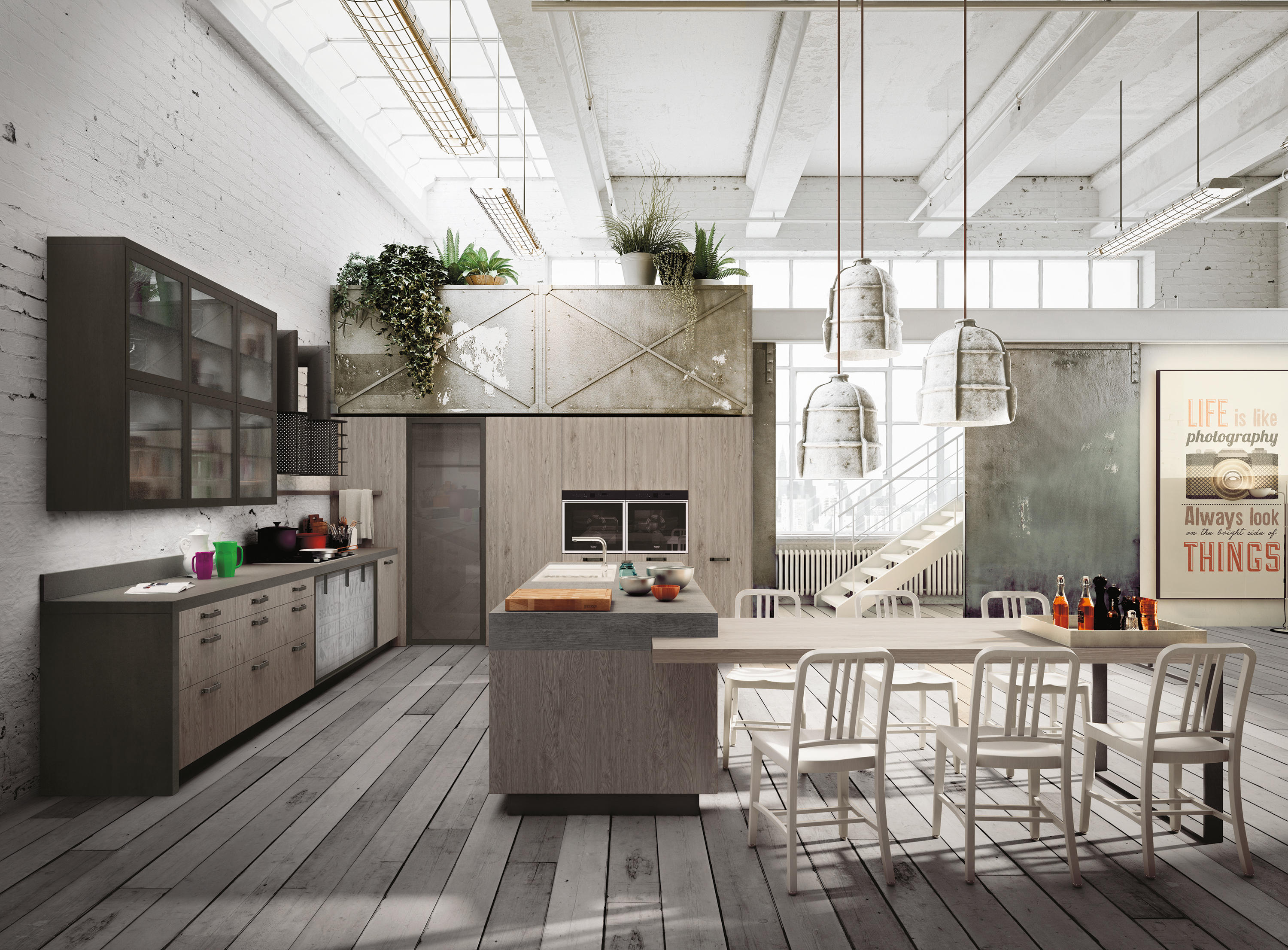 Loft By Snaidero | Fitted Kitchens ...