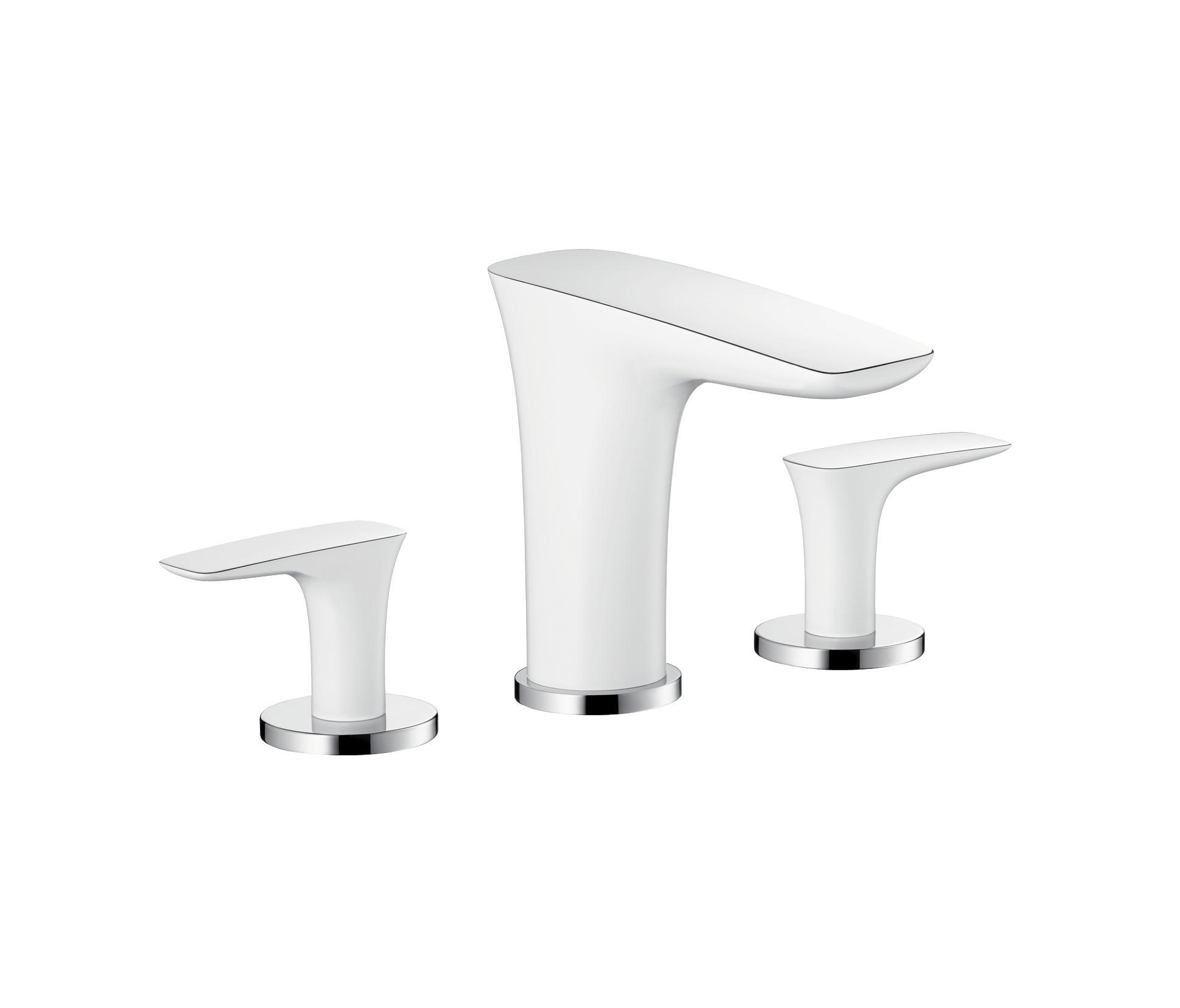 hansgrohe puravida m langeur de lavabo 3 trous robinetterie pour lavabo de hansgrohe architonic. Black Bedroom Furniture Sets. Home Design Ideas