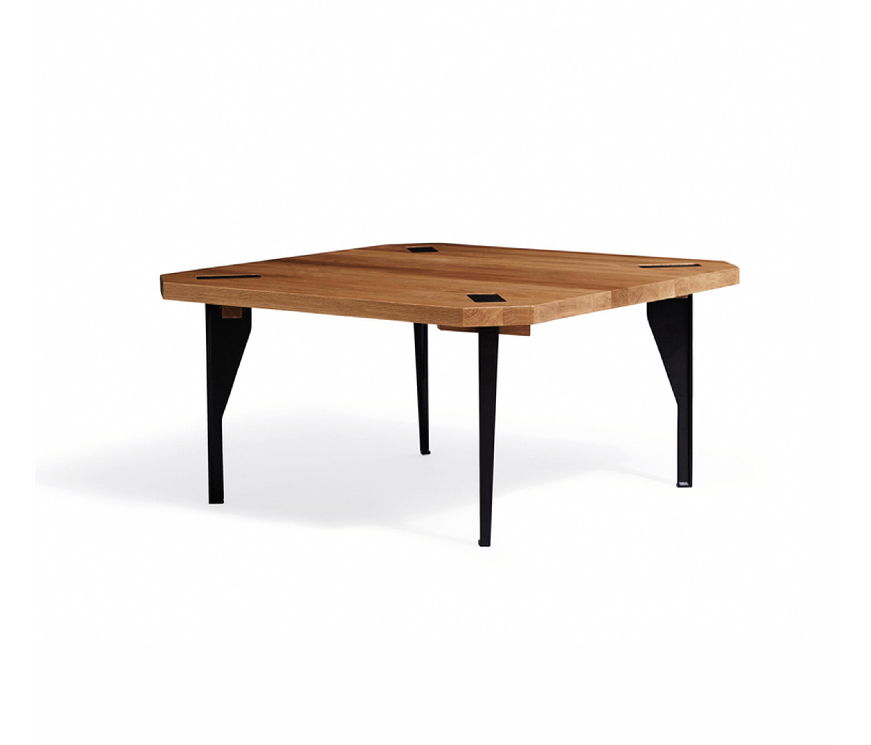 Keel Coffee Table Oak Square Lounge Tables From New Works Architonic