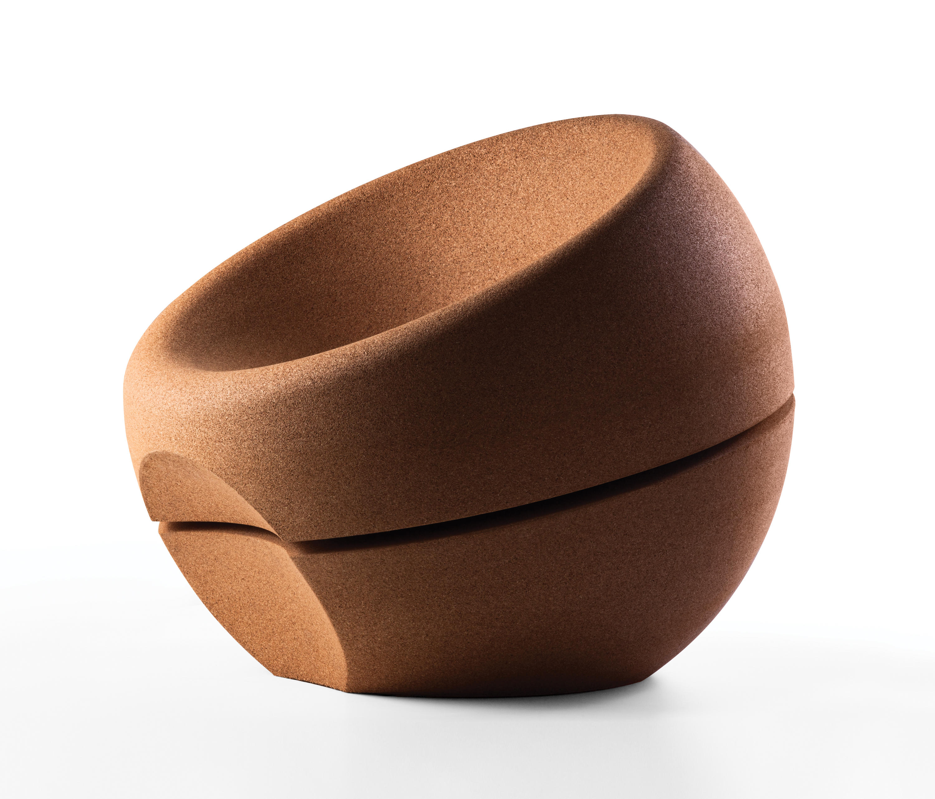 ... Spherical Cork Armchair By Movecho | Armchairs
