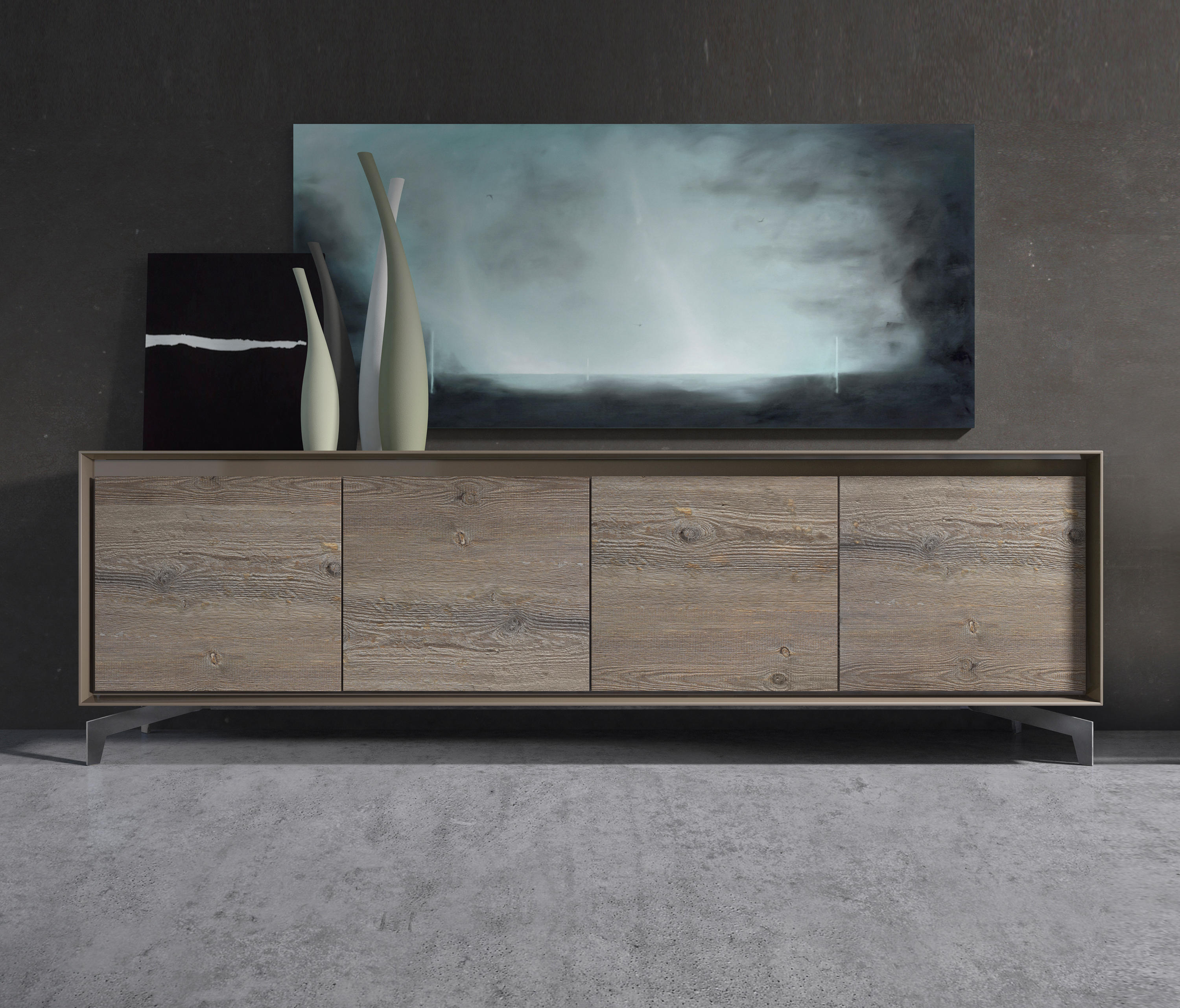 Madia neck sideboards from presotto architonic for Www presotto it