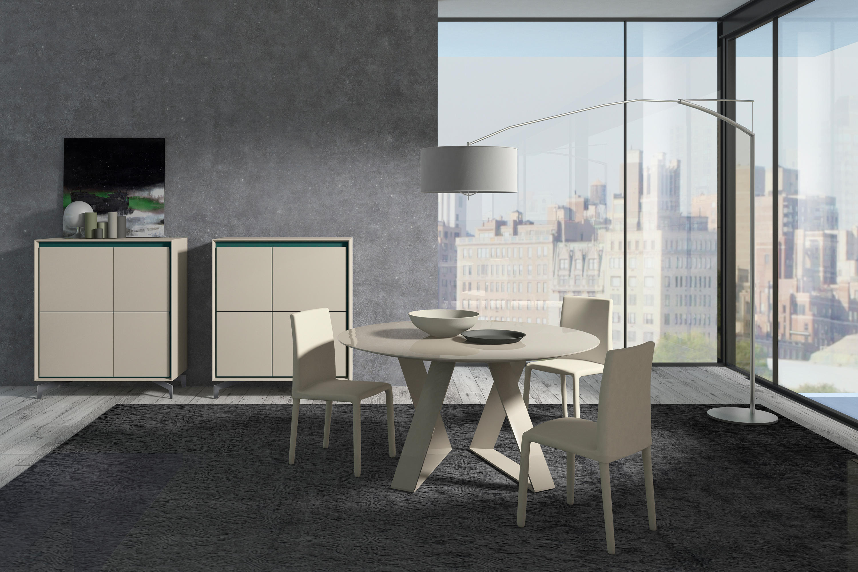 ZAFFIRO TABLE - Dining tables from Presotto | Architonic
