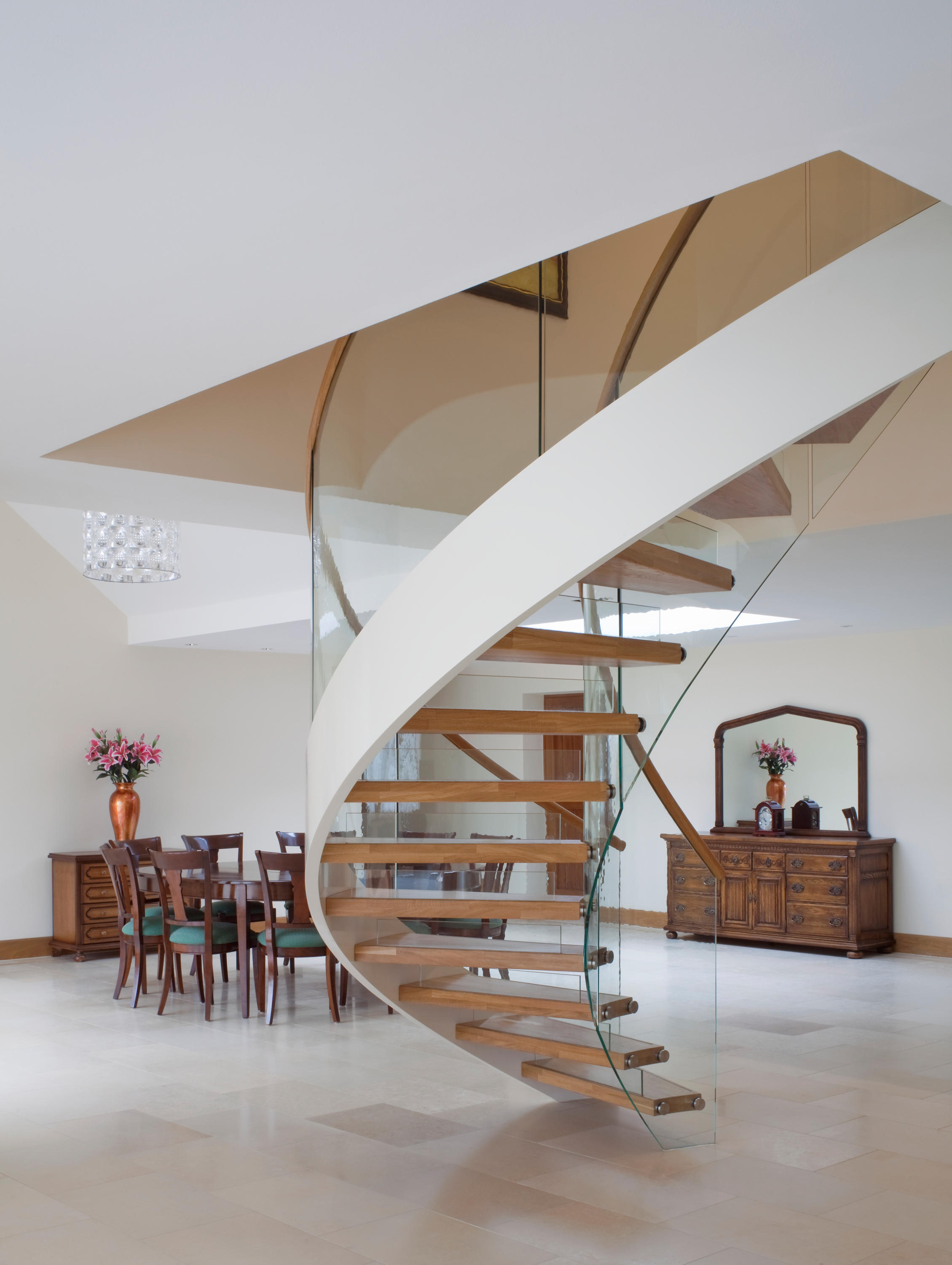 ... Floating Stairs Wood TWE 525 By EeStairs   Staircase Systems ...