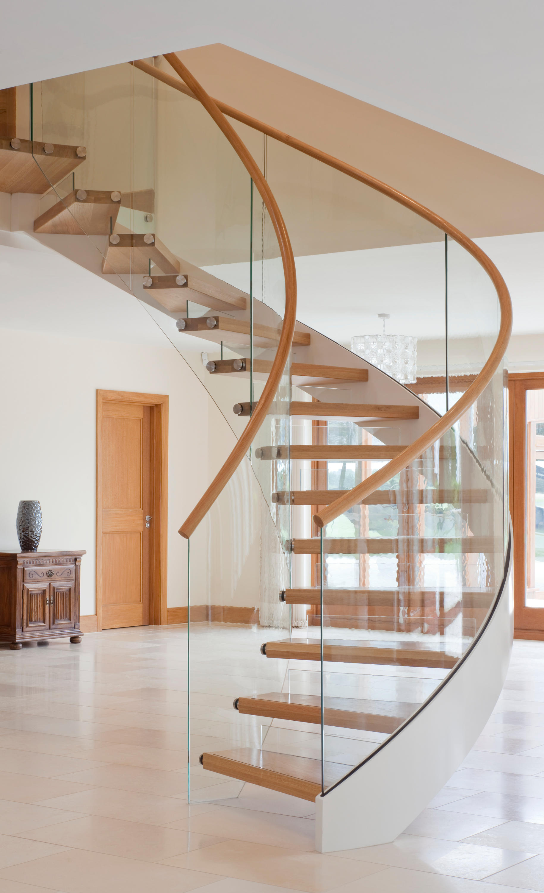 ... Floating Stairs Wood TWE 525 By EeStairs | Staircase Systems ...