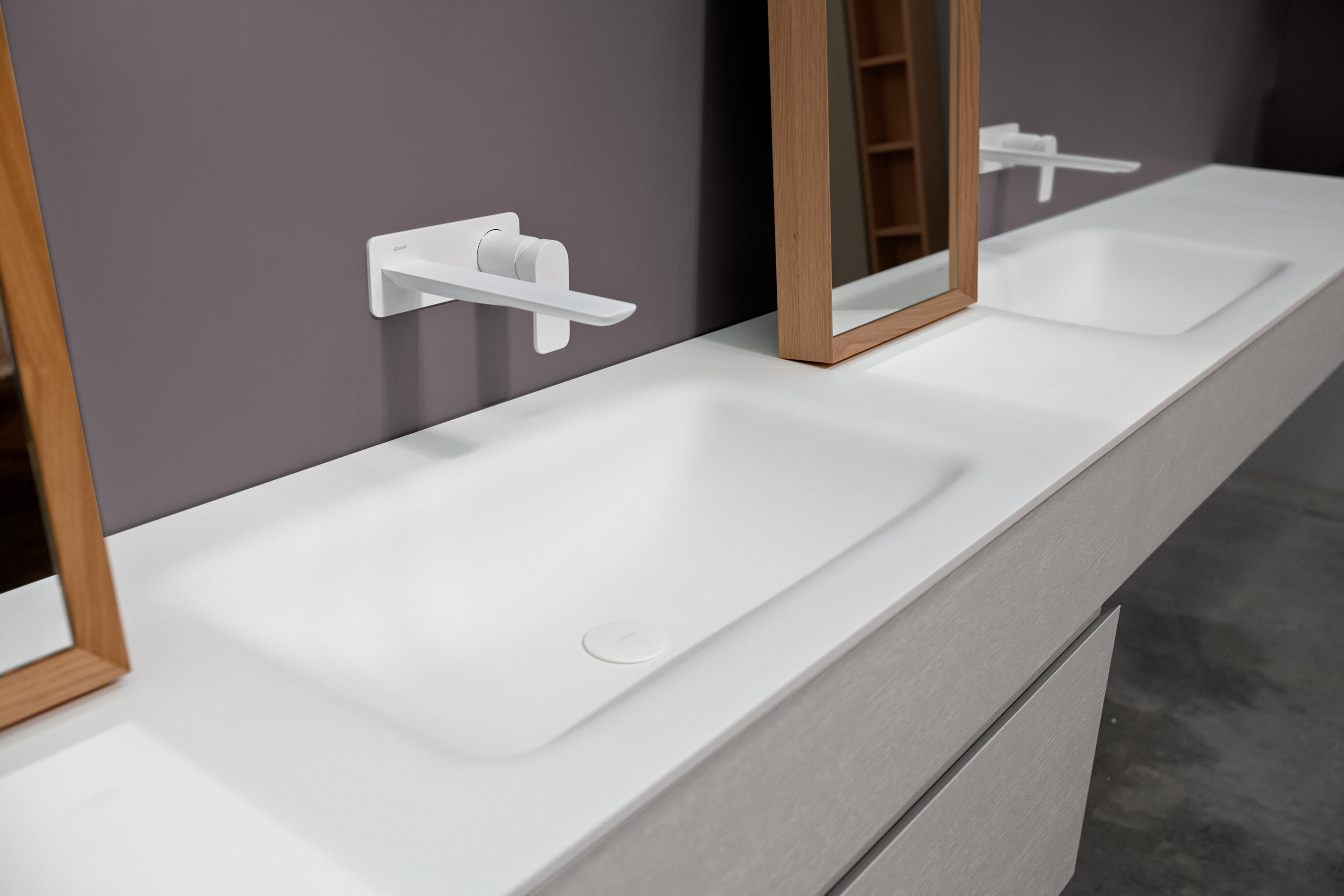 STRATO BATHROOM FURNITURE SET 02 - Vanity units from ...