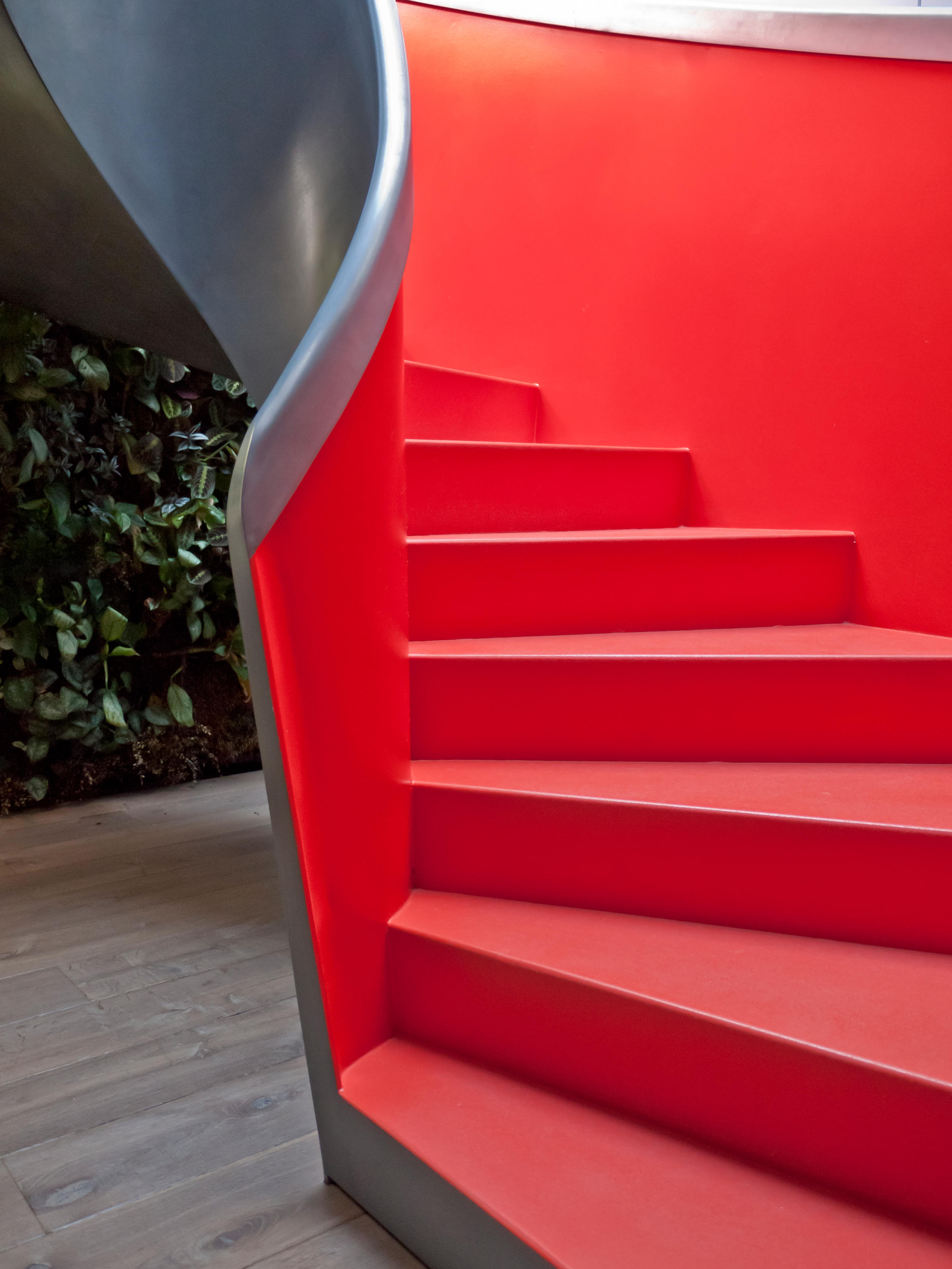 Helical Stairs Steel Metal Finishes Twe 569 Staircase