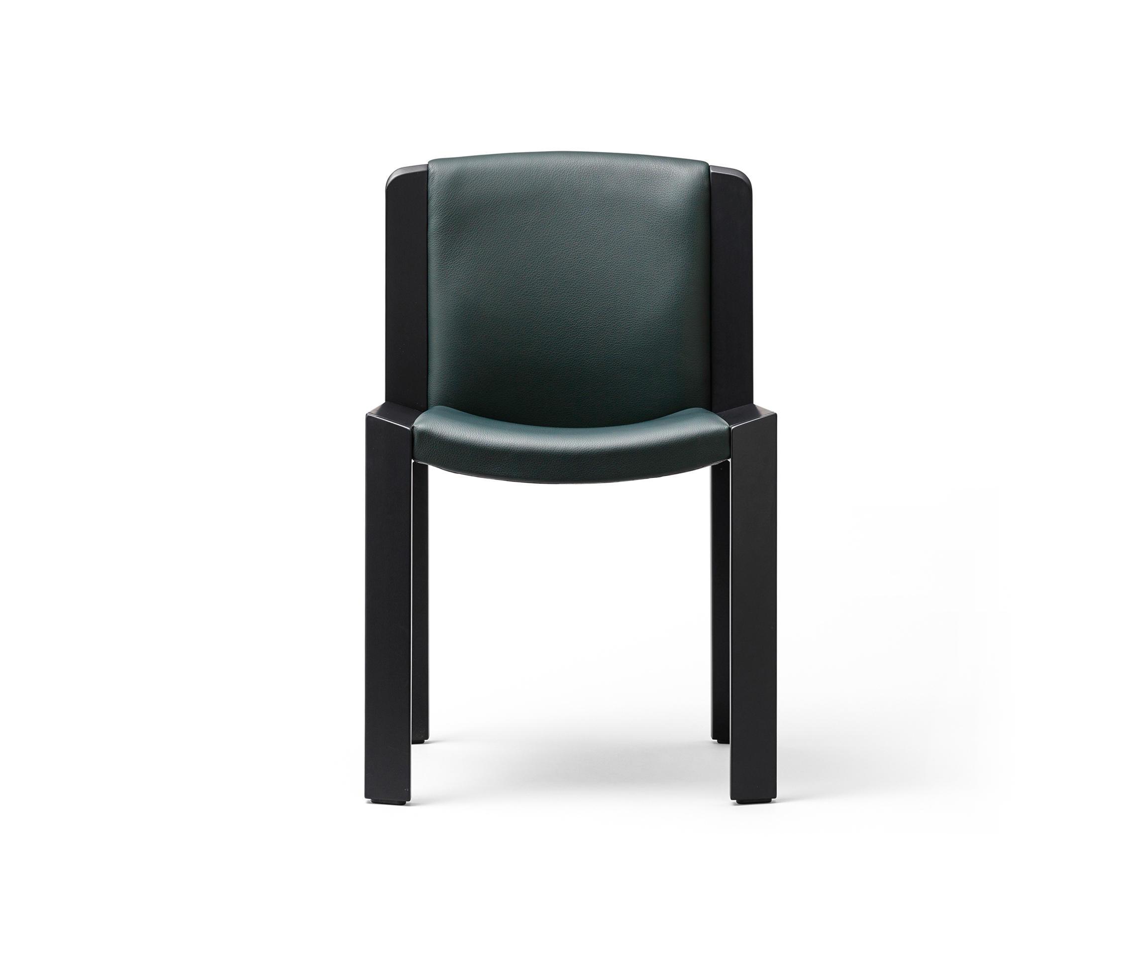 300 Black / Copenhagen Green Leather By Karakter Copenhagen | Visitors  Chairs / Side Chairs ...