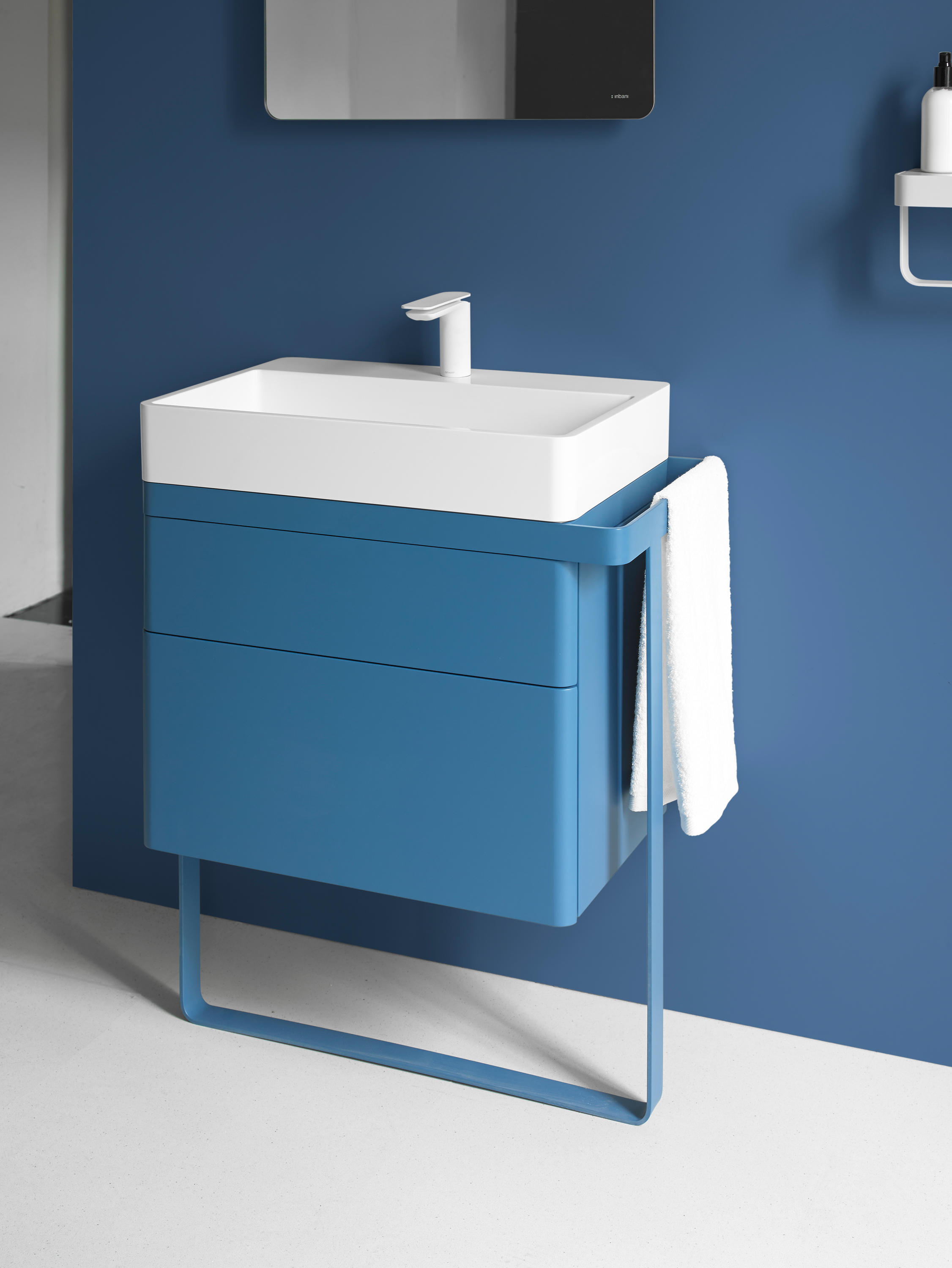STRUCTURE BATHROOM FURNITURE SET 1 - Vanity units from Inbani ...