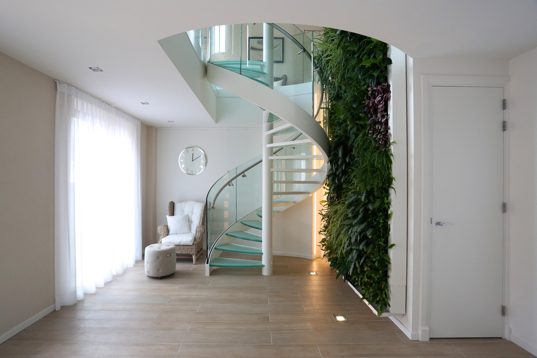 Lighting Basement Washroom Stairs: SPIRAL STAIRS GLASS TSE-636