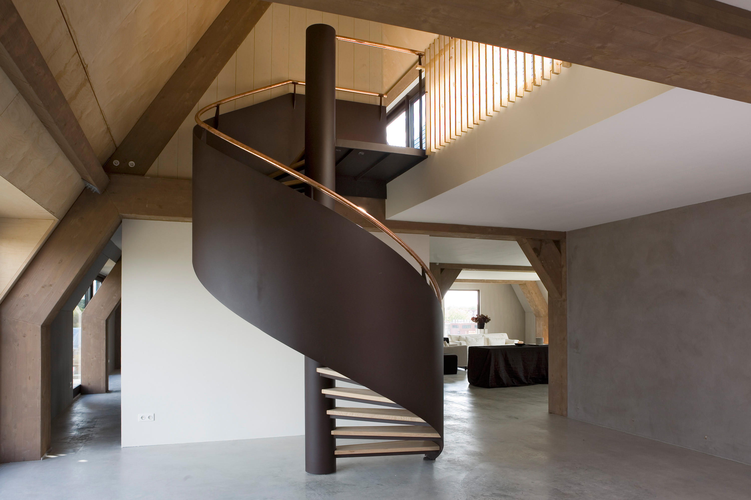 Spiral Stairs Steel TSE 204 By EeStairs | Metal Stairs