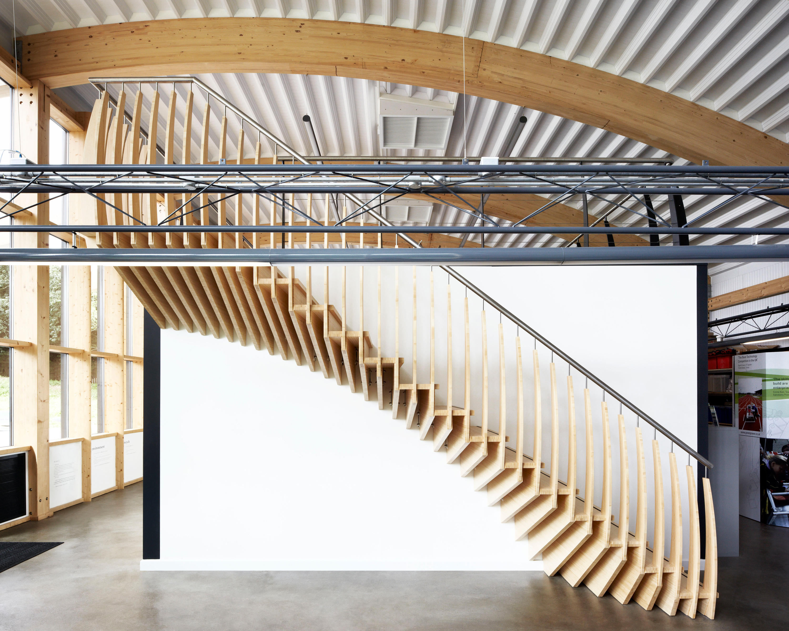MindStep | Straight Stairs Wood TRH 517 By EeStairs | Wood Stairs ...