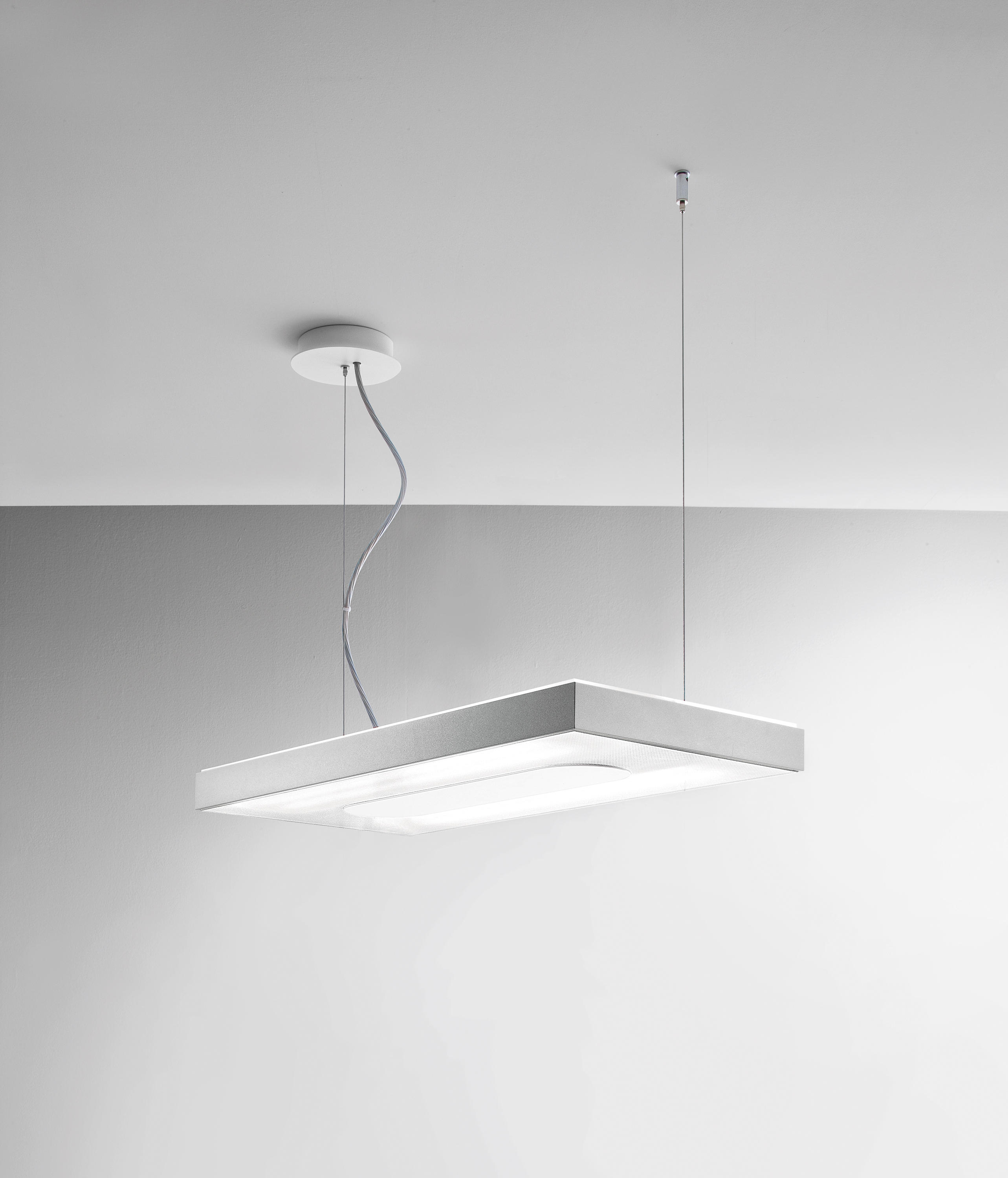 suspended office lighting. linea suspended lamp 60 by the quadrifoglio group general lighting office r