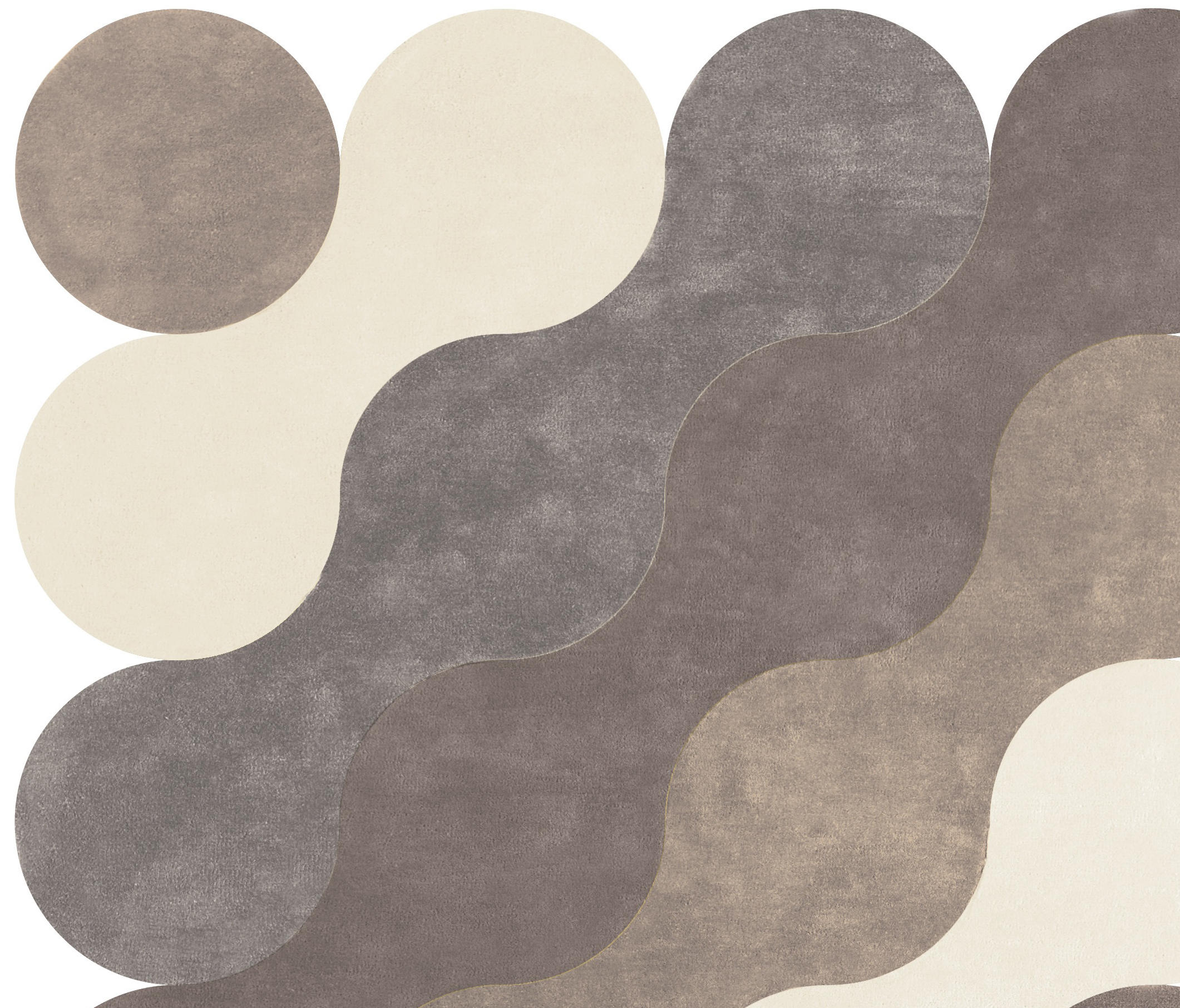vagues de la mer - alfombras / alfombras de diseño de now carpets