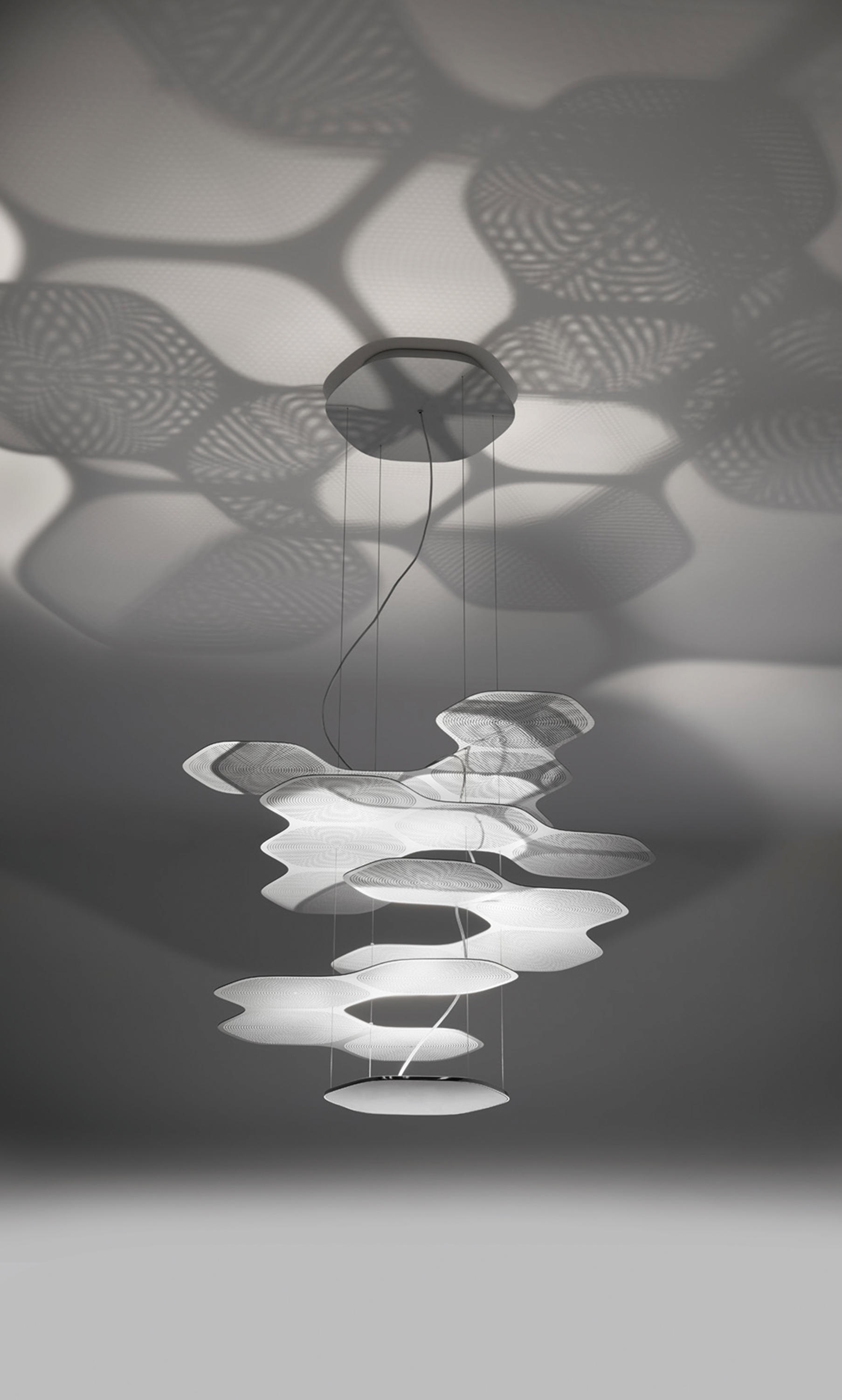 space cloud suspension lamp suspended lights from artemide