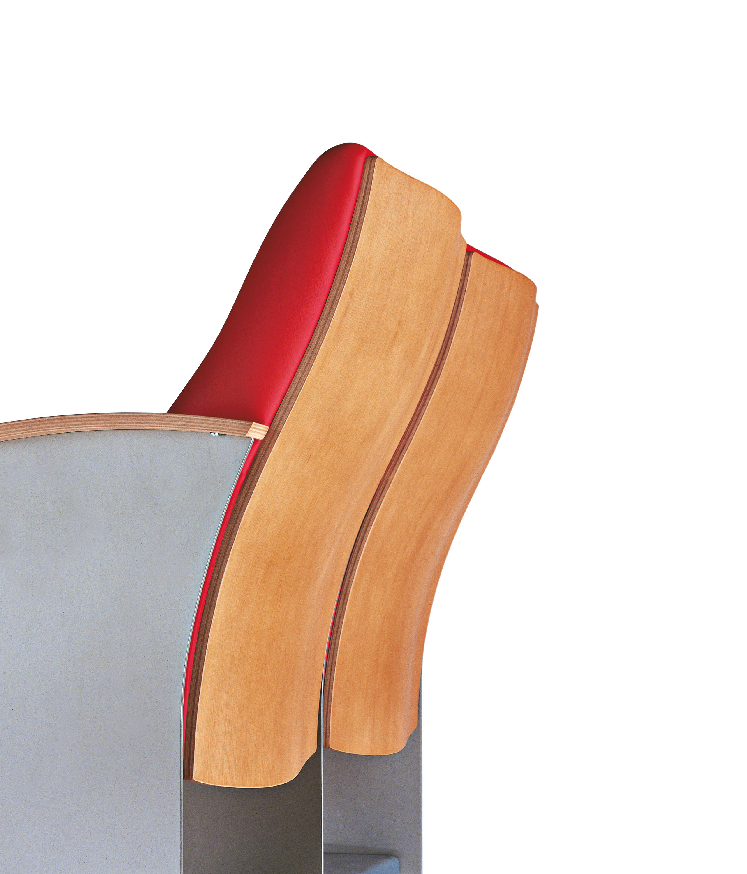 ... Frank O. Gehry Chair By Poltrona Frau Group Contract Division |  Auditorium Seating