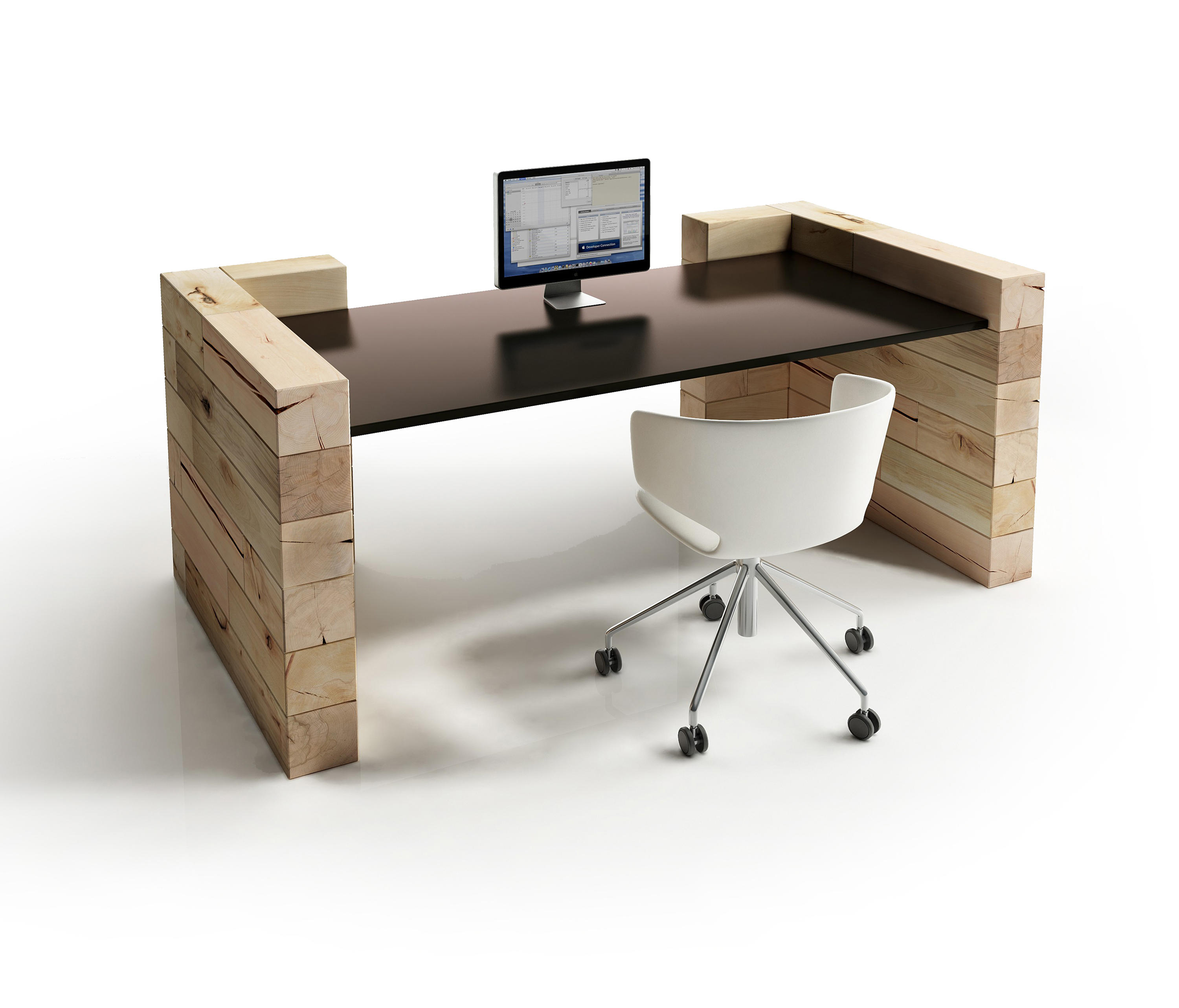 ... CRAFTWAND®   Office Desk Design By Craftwand | Trestles