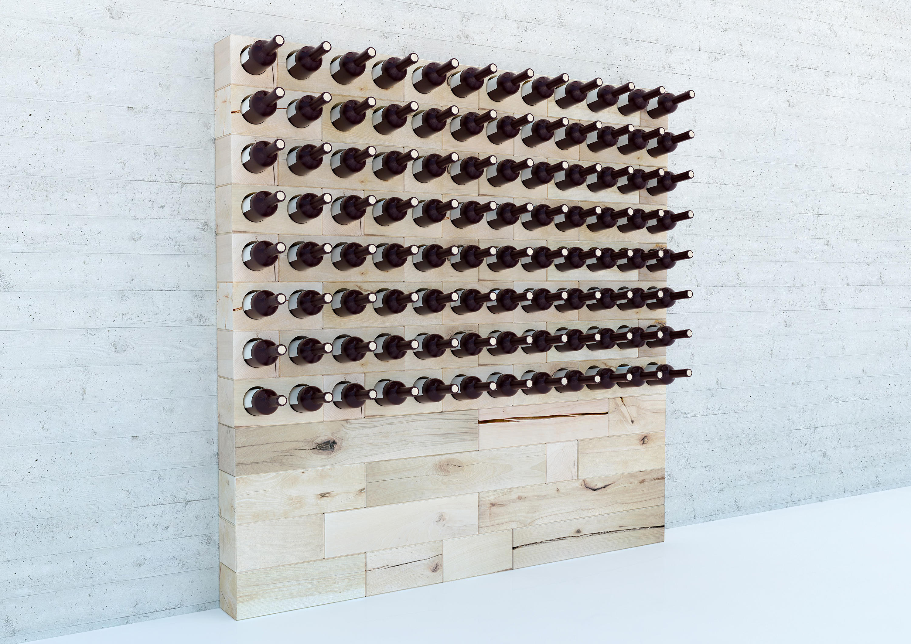 Craftwand wine rack design shelving from