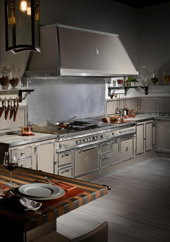 Champagne touch cucine cucine a parete officine gullo - Cucine a parete ...