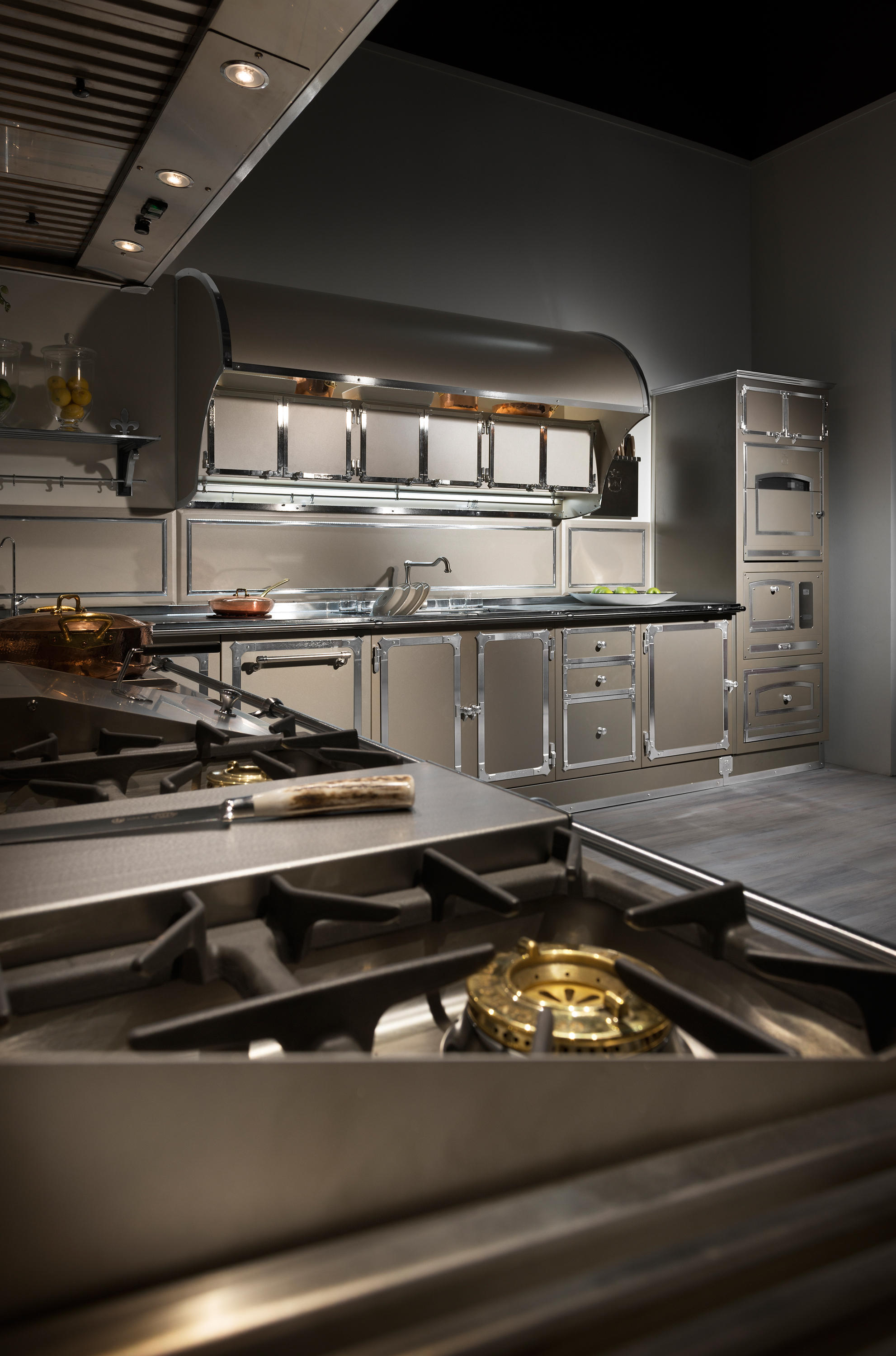 Champagne Touch Kitchen Ed Kitchens From Officine Gullo