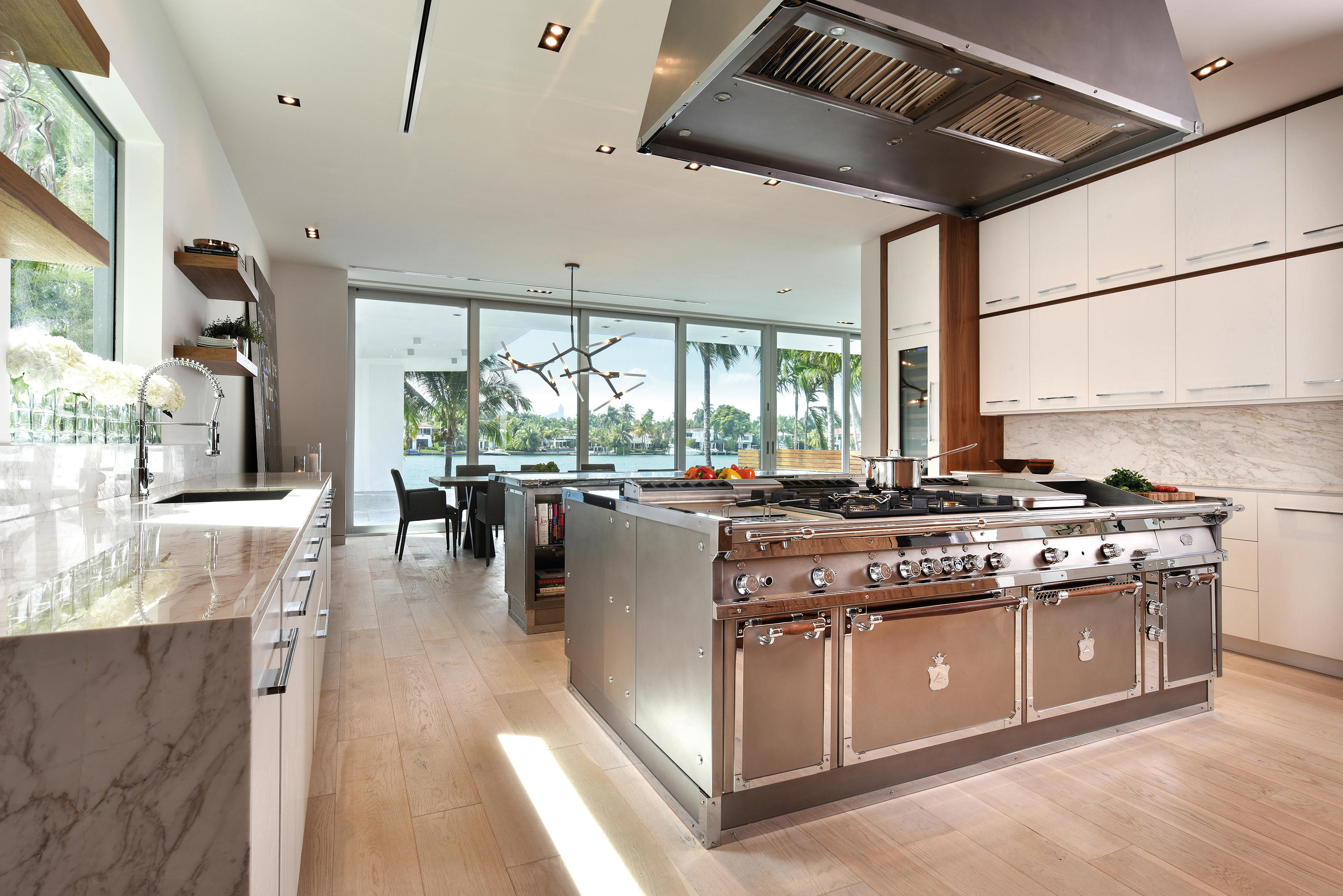 Beau Miami Steel Island Kitchen By Officine Gullo | Island Kitchens ...