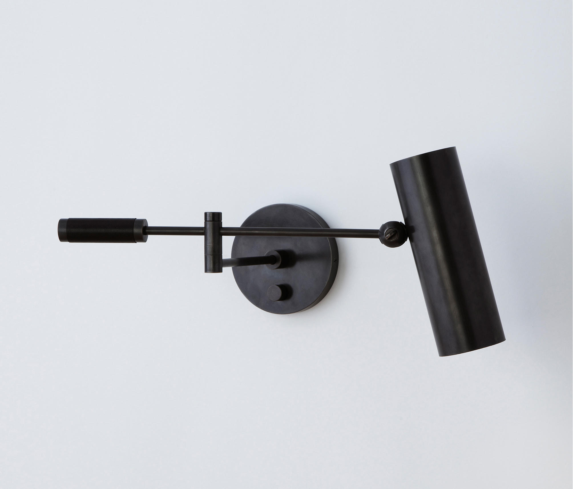 CYLINDER SWING ARM SCONCE - Wall-mounted spotlights from Apparatus Architonic