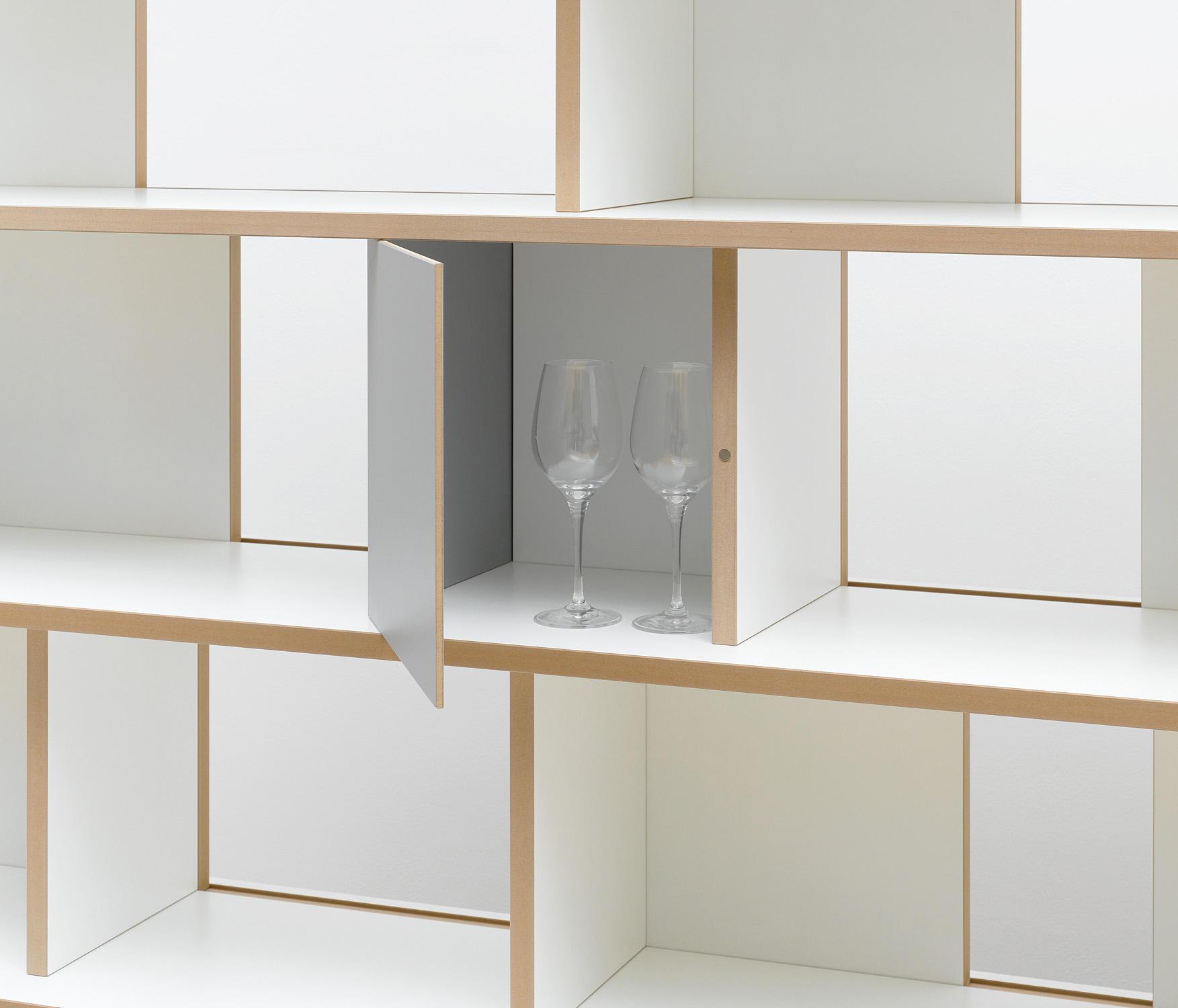 tojo stell faltt re b roregalsysteme von tojo m bel architonic. Black Bedroom Furniture Sets. Home Design Ideas