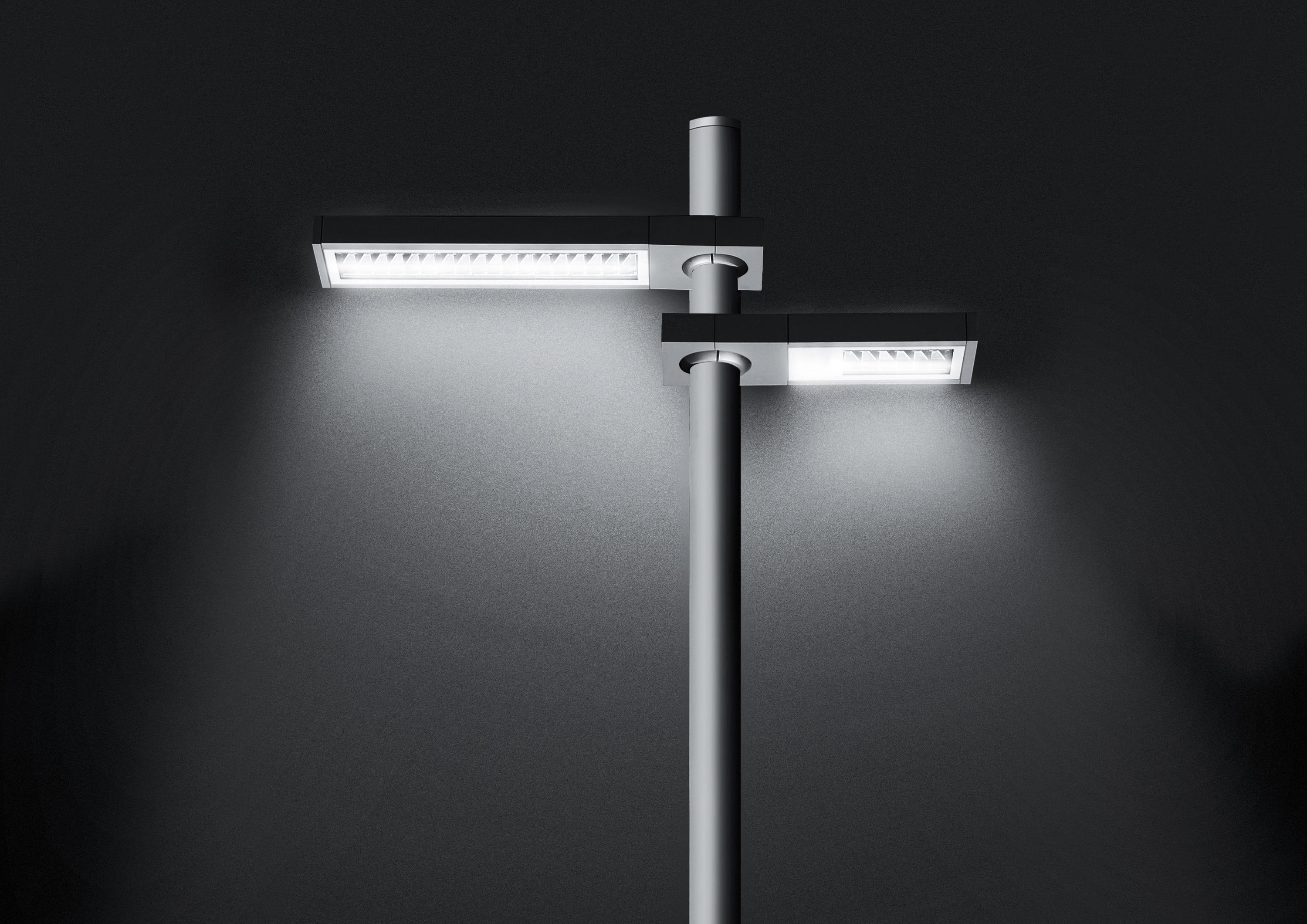 Avenue street lighting 12 led led lights from simes for Eclairage a led exterieur