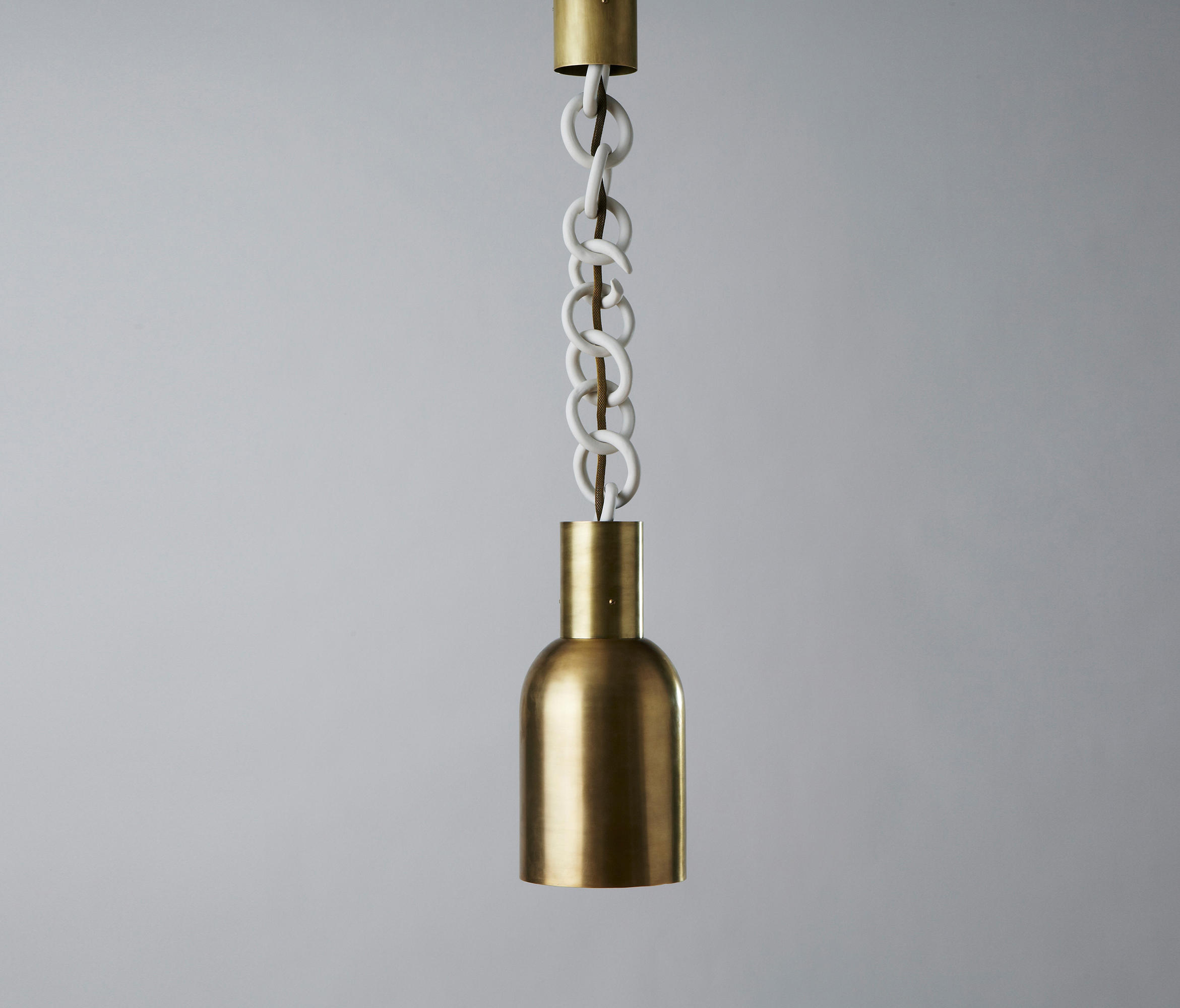 Link Porcelain Mono Light Suspended Lights From Aratus