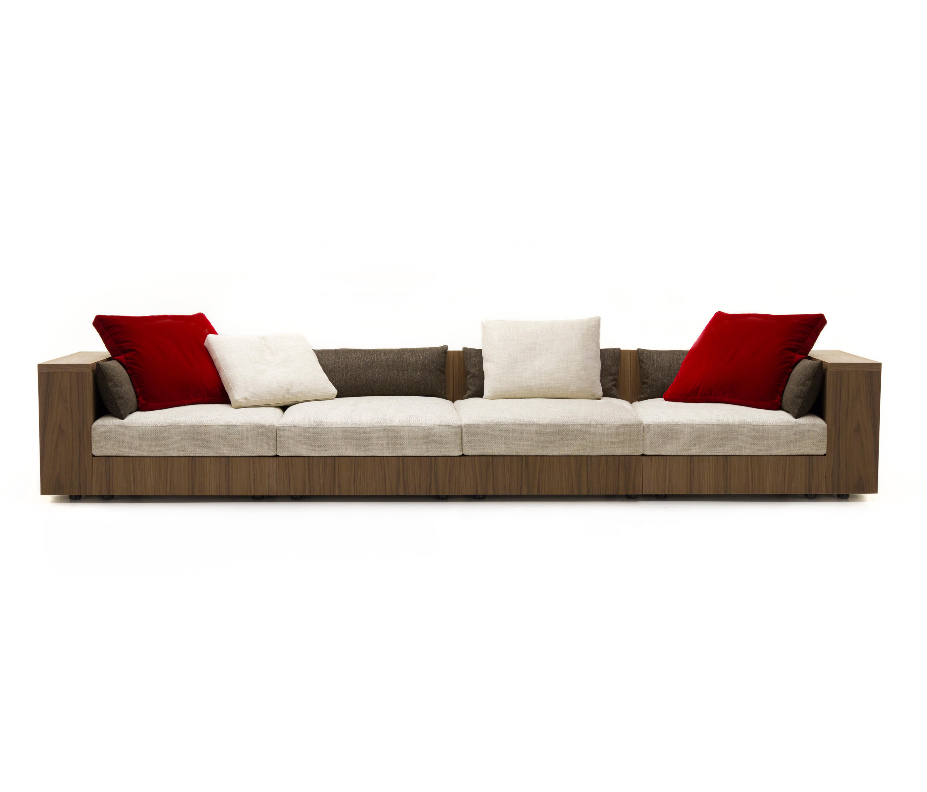 sofa so wood 4 seater sofa lounge sofas from mussi. Black Bedroom Furniture Sets. Home Design Ideas