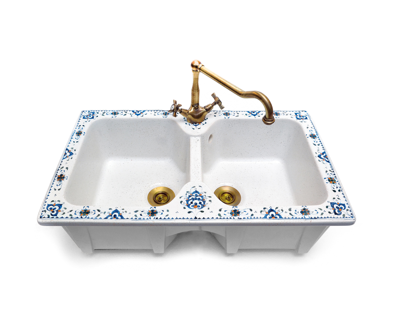 Ceramic bowl kuchenspulbecken von officine gullo for Küchenspülbecken