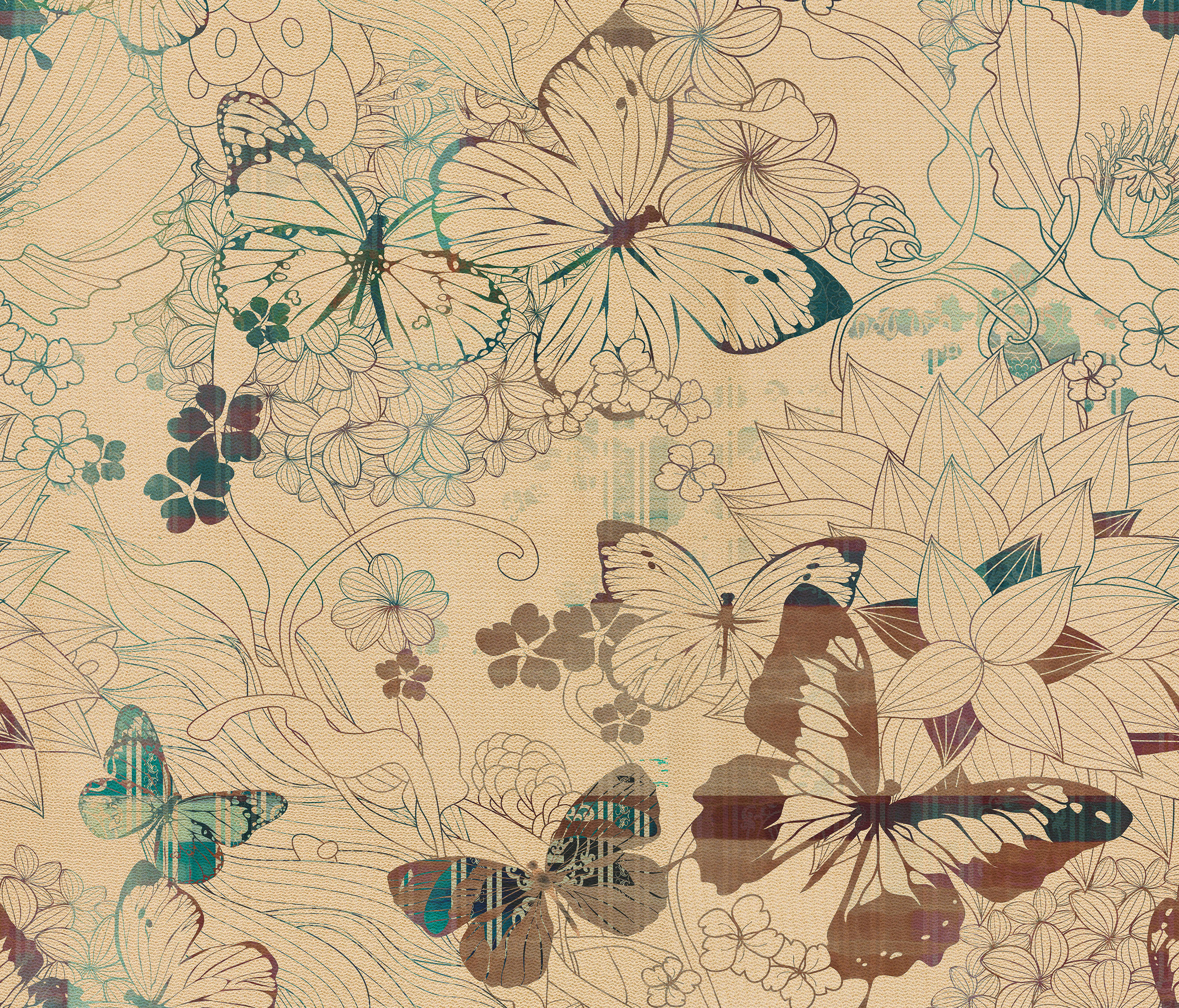 BACKYARD - Wall coverings / wallpapers from Inkiostro Bianco ...