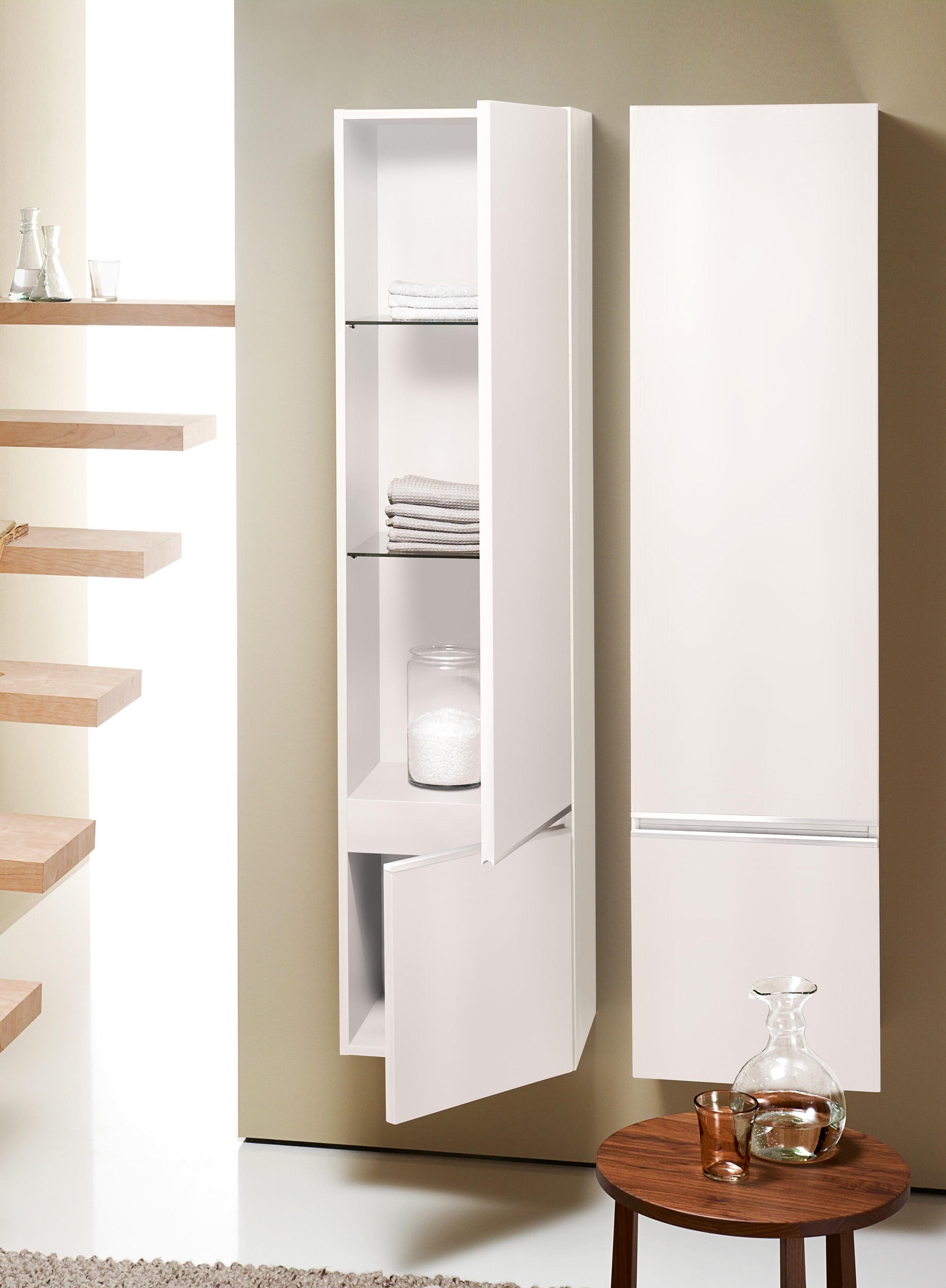Bel tall unit wall cabinets from burgbad architonic for Catalogue salle de bain pdf