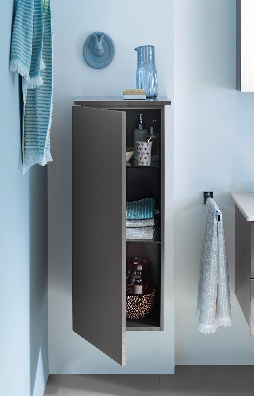 essento halbhoher schrank wandschr nke von burgbad architonic. Black Bedroom Furniture Sets. Home Design Ideas