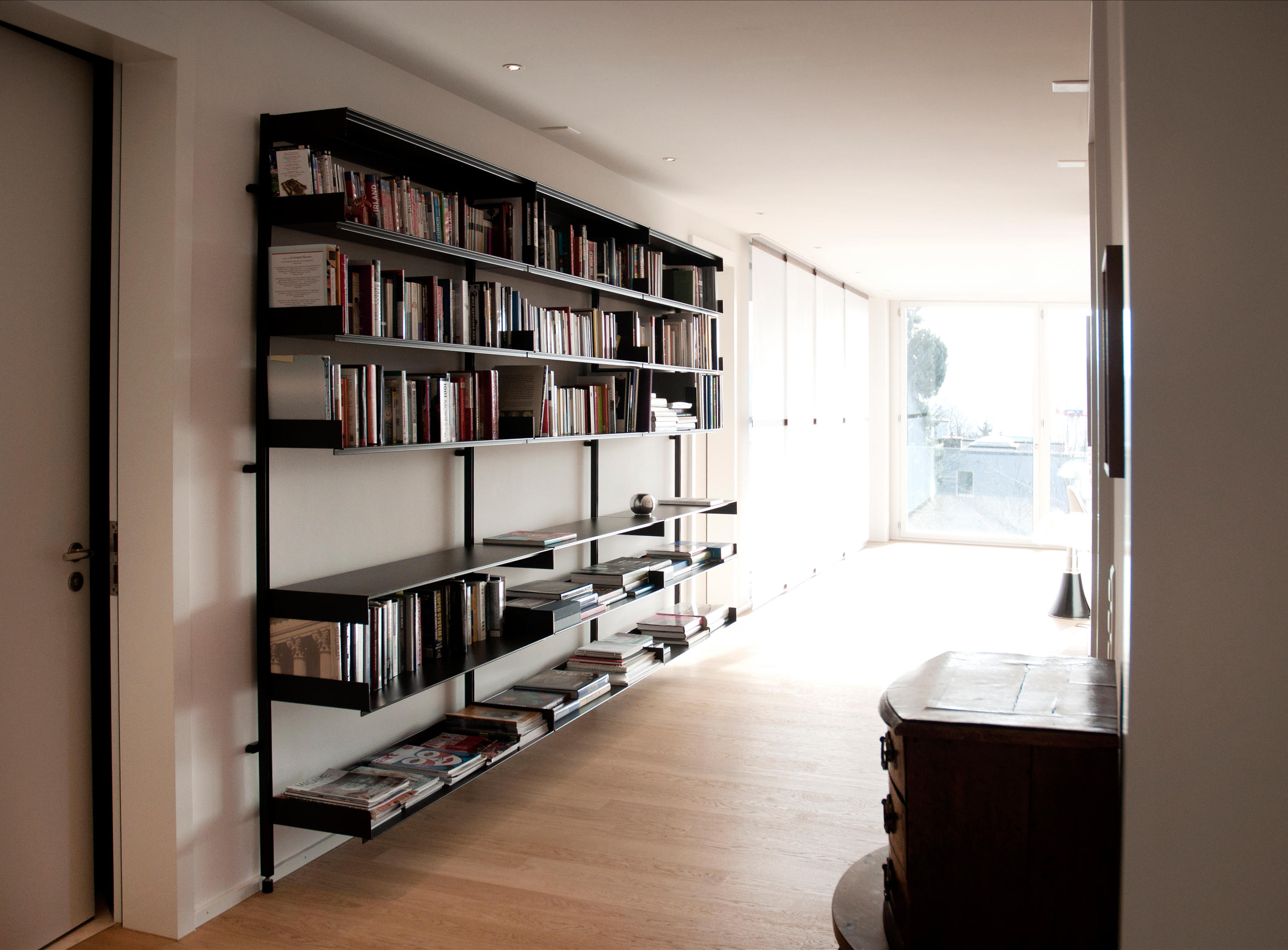 System M Shelves By S+ Systemmöbel | Library Shelving Systems ...