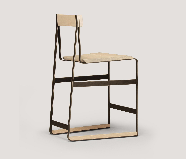 Piedmont counter height stool barhocker von skram for Barhocker usa