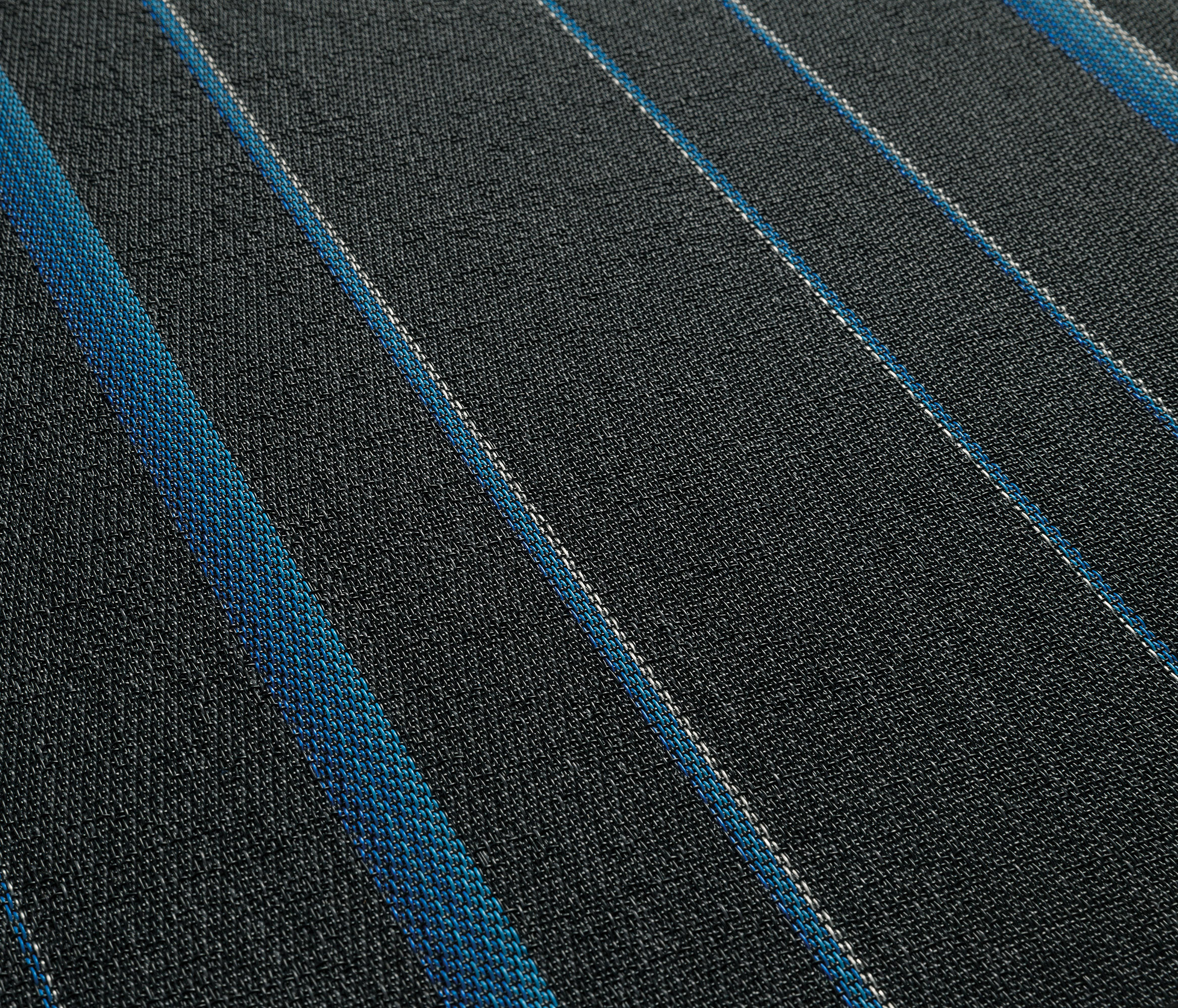 Stripes Eclipse Blue St Carpet Tiles From 2tec2
