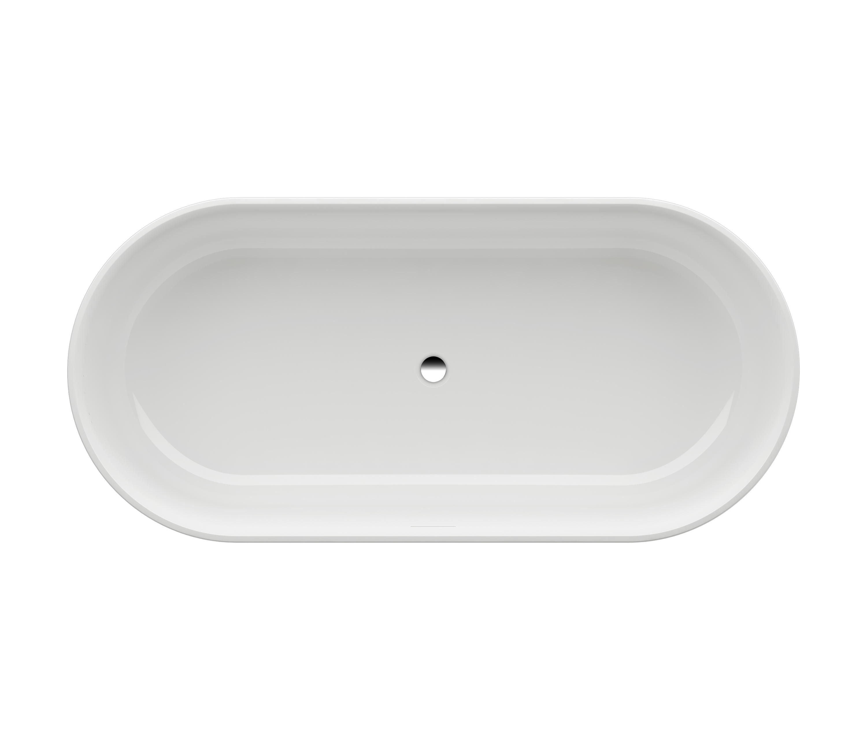 Badewanne freistehend gusseisen badewanne bradford stahl for Badewanne oval freistehend