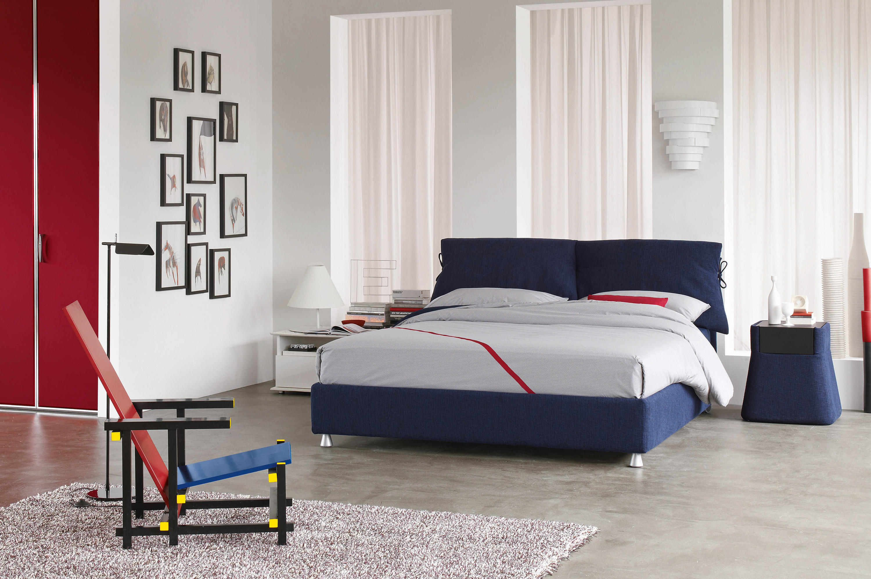 Nathalie bed beds from flou architonic - Letto flou prezzi ...