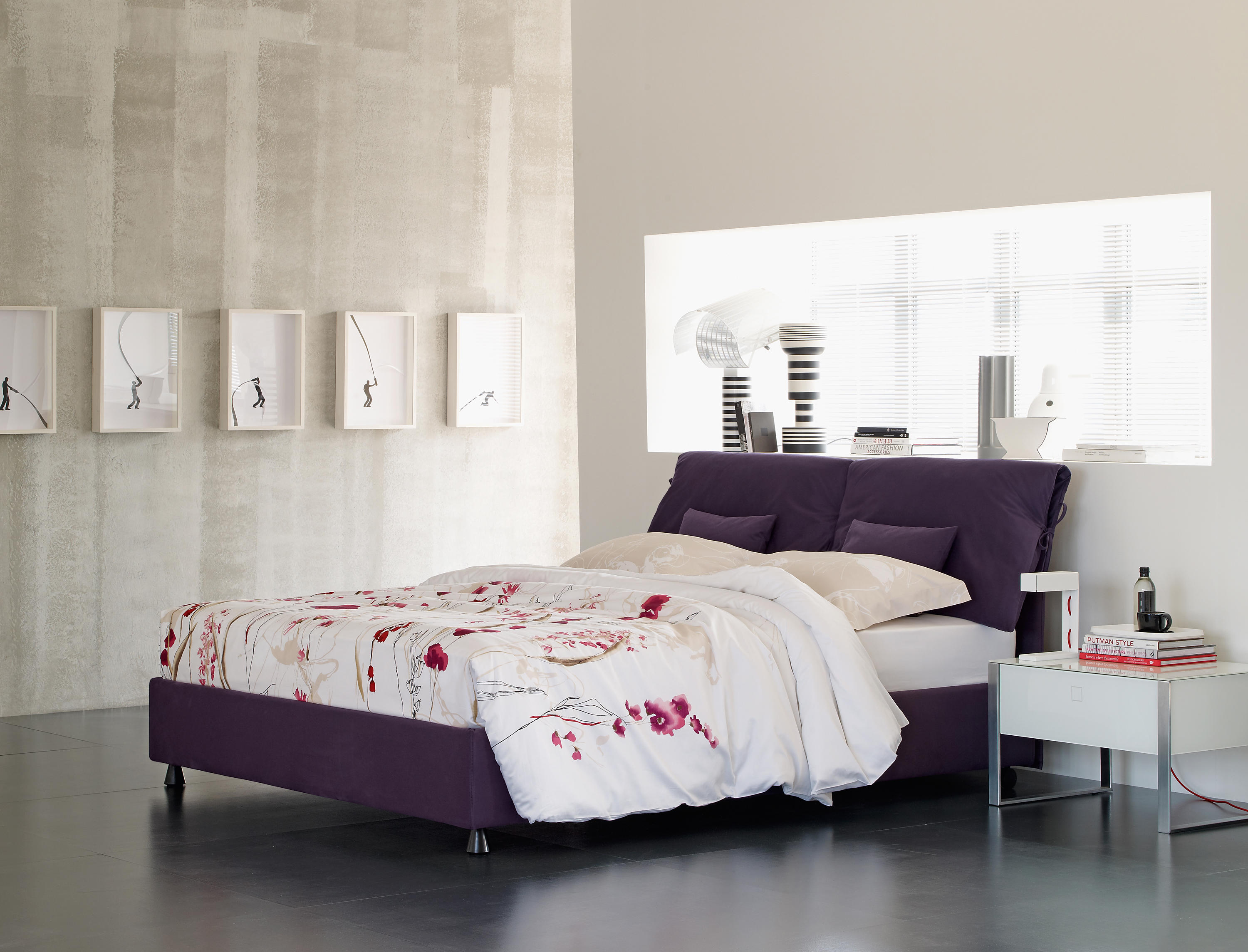 Nathalie bed beds from flou architonic for Nadalini arredamenti