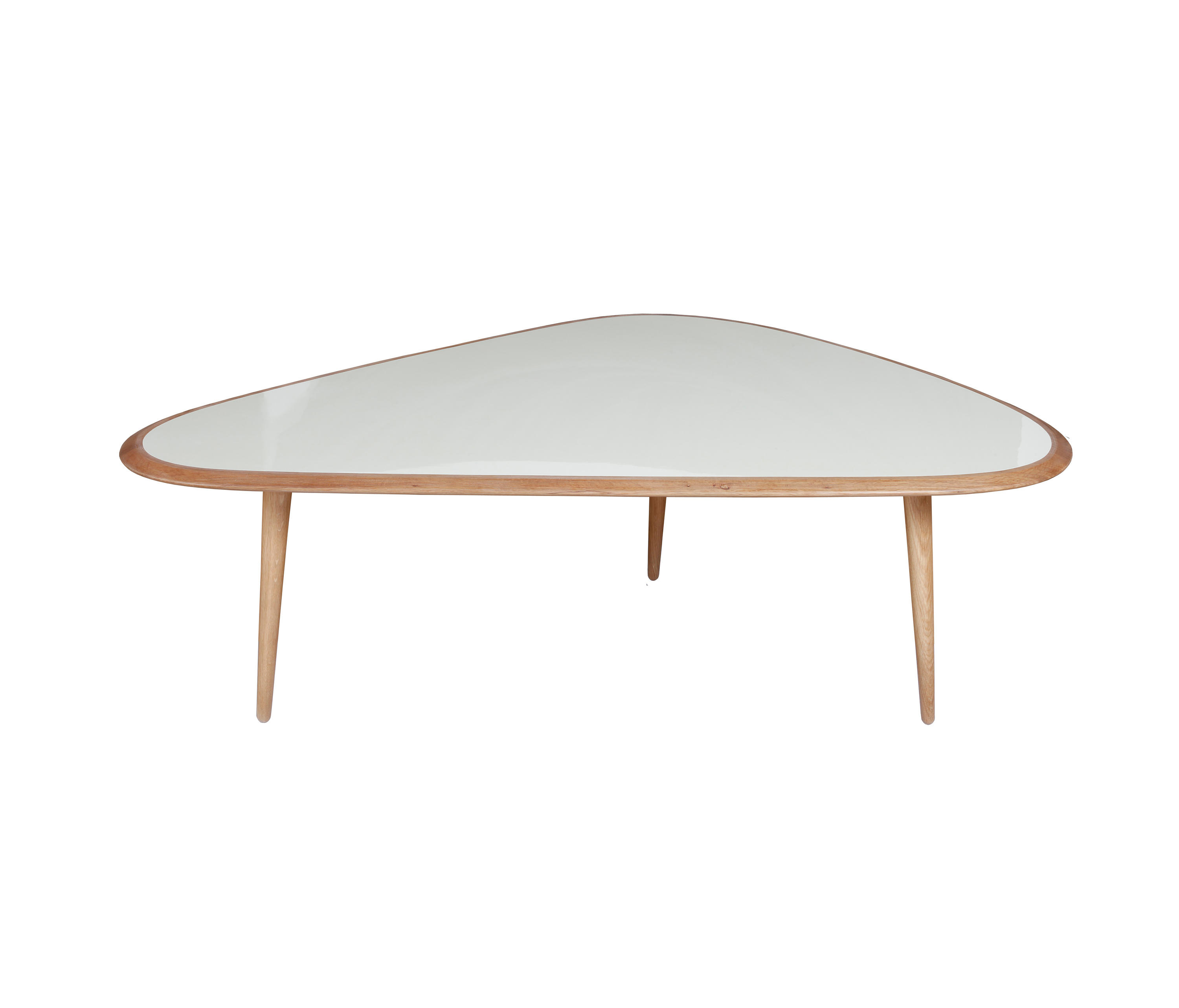 Large coffee table lounge tables from red edition for Large cream coffee table