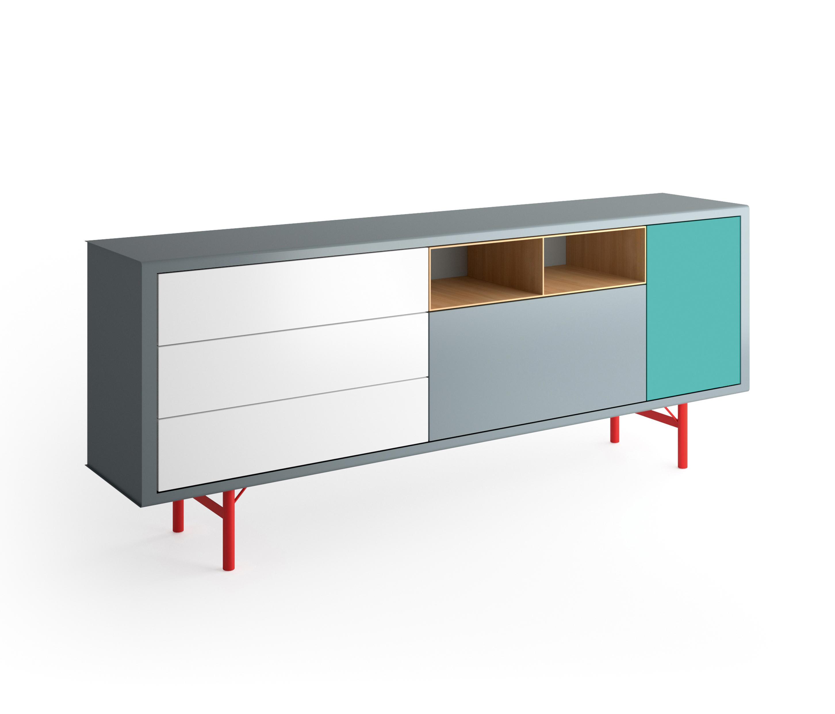 Modular s36 sideboard sideboards from m ller for Wohnlandschaft planen