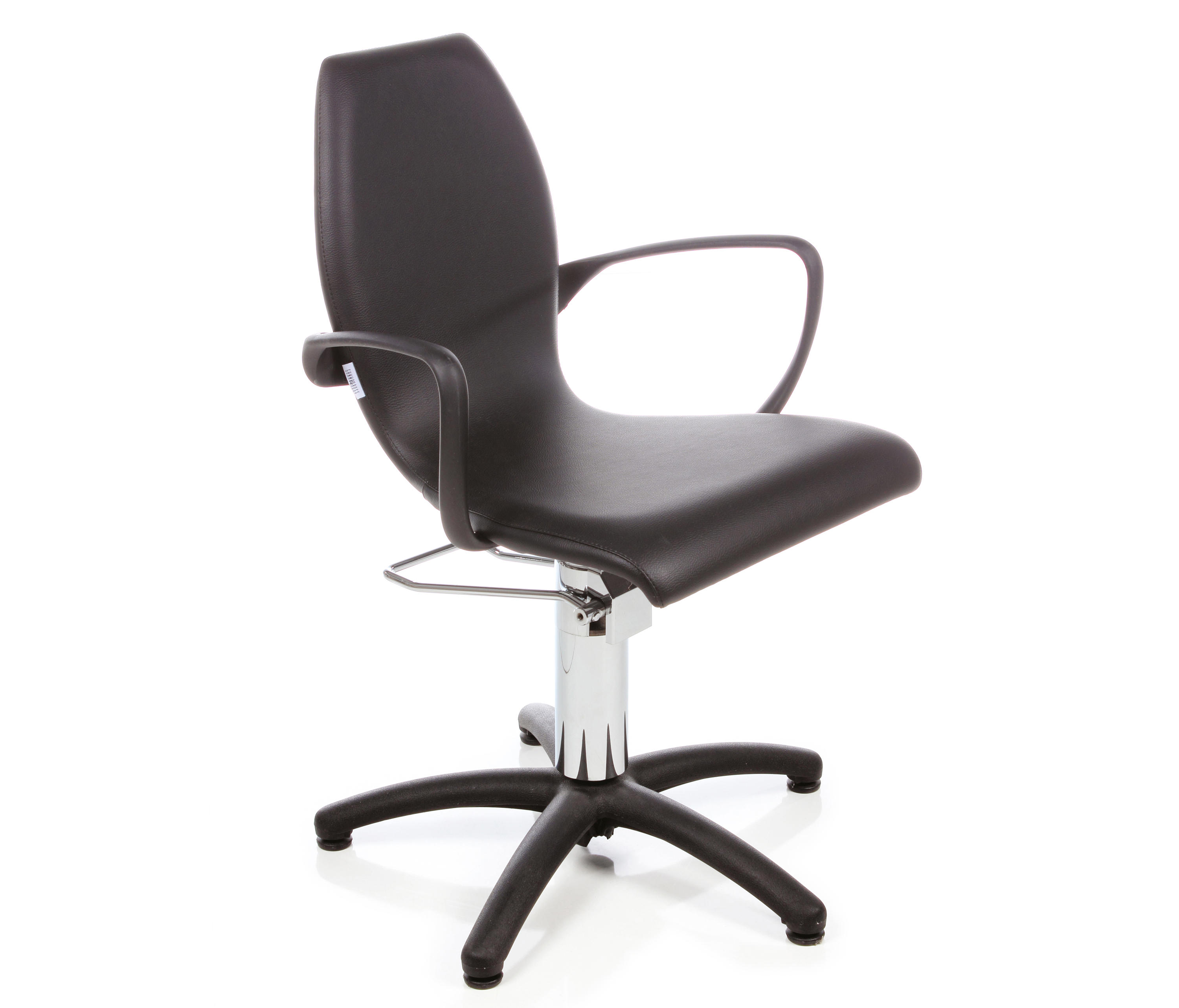 BLACK NIKE I GAMMASTORE STYLING SALON CHAIR Barber chairs from
