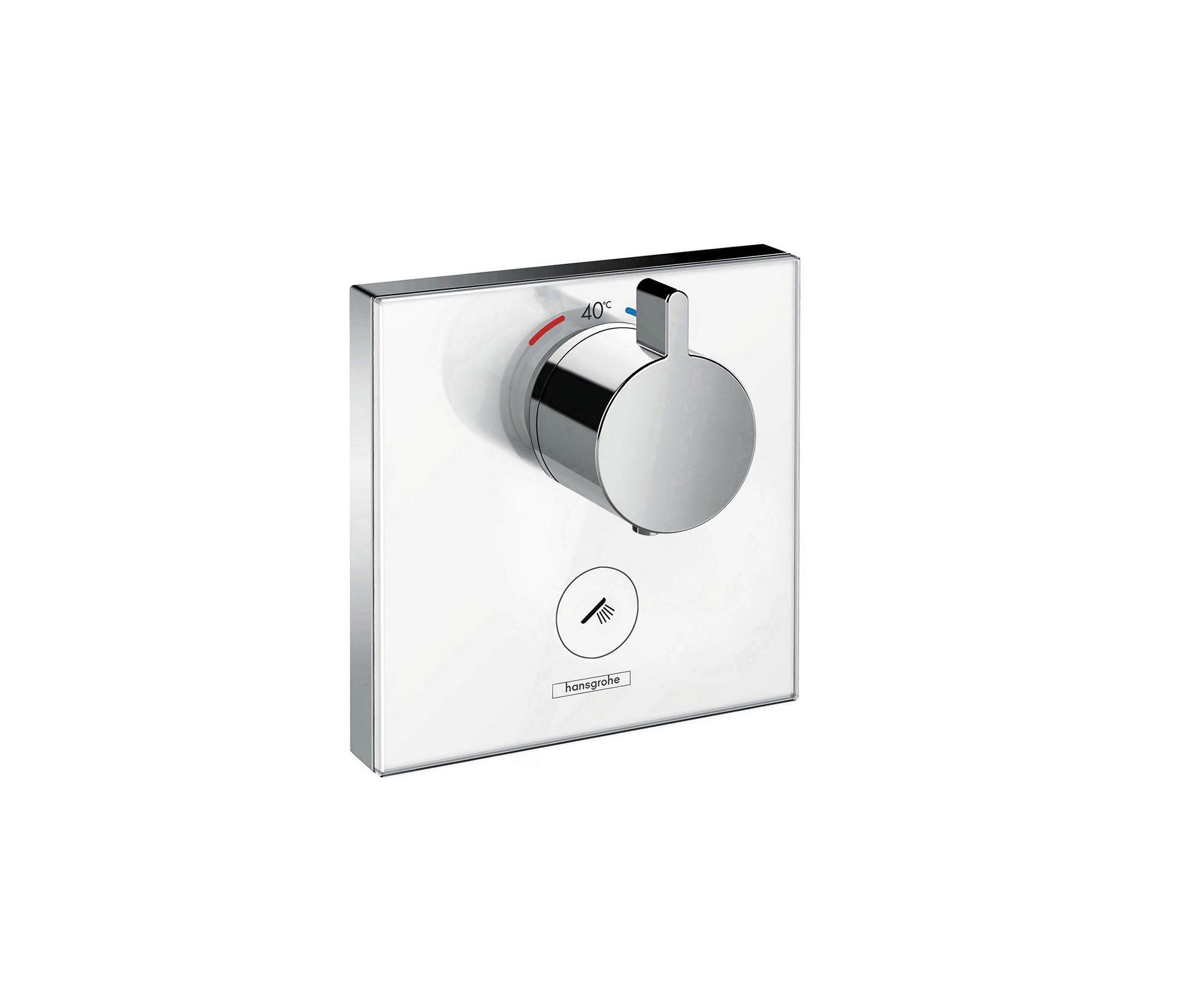 hansgrohe showerselect thermostat highflow unterputz f r 1 verbraucher und einen zus tzlichen. Black Bedroom Furniture Sets. Home Design Ideas