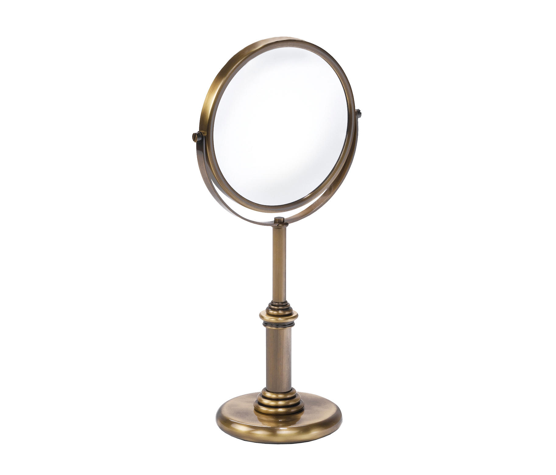 Windsor free standing magnifying mirror x3 shaving for Shaving mirror