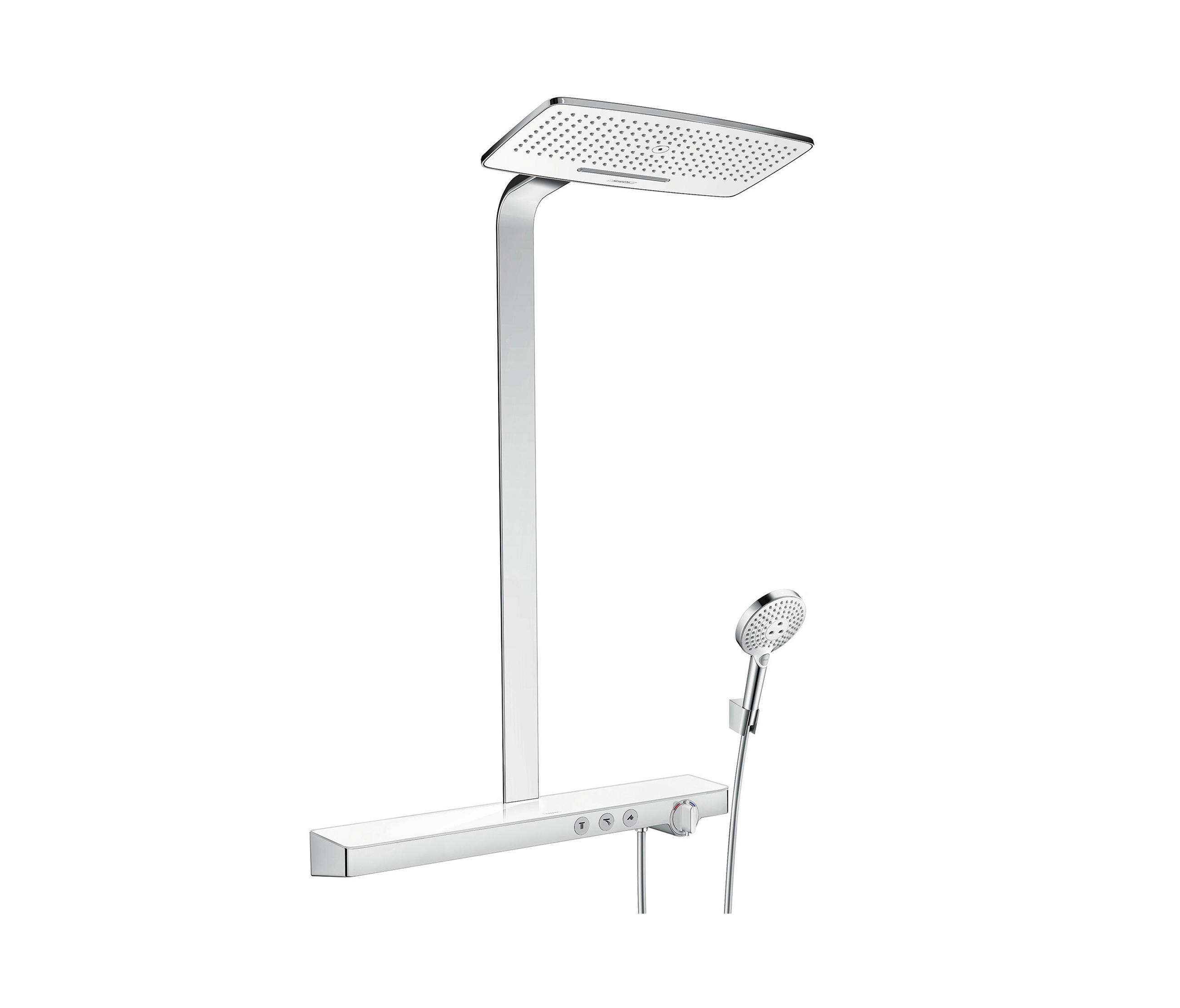 hansgrohe showerpipe rainmaker select 420 2jet. Black Bedroom Furniture Sets. Home Design Ideas